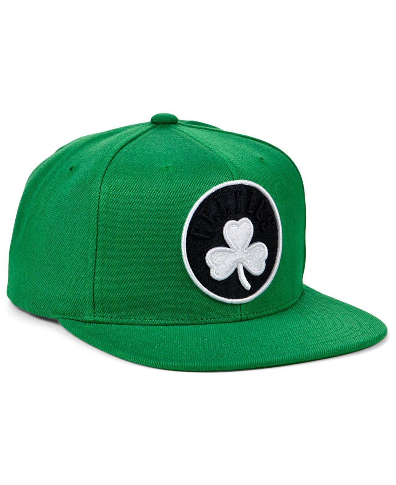 amazing selection to buy most popular Mitchell & Ness Synthetic Boston Celtics Full Court Pop Snapback ...
