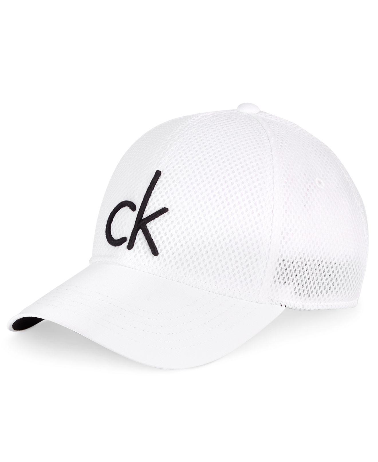 0bff5cab572 Lyst calvin klein men mesh cap in white for men jpg 1320x1616 Hats for men  calvin