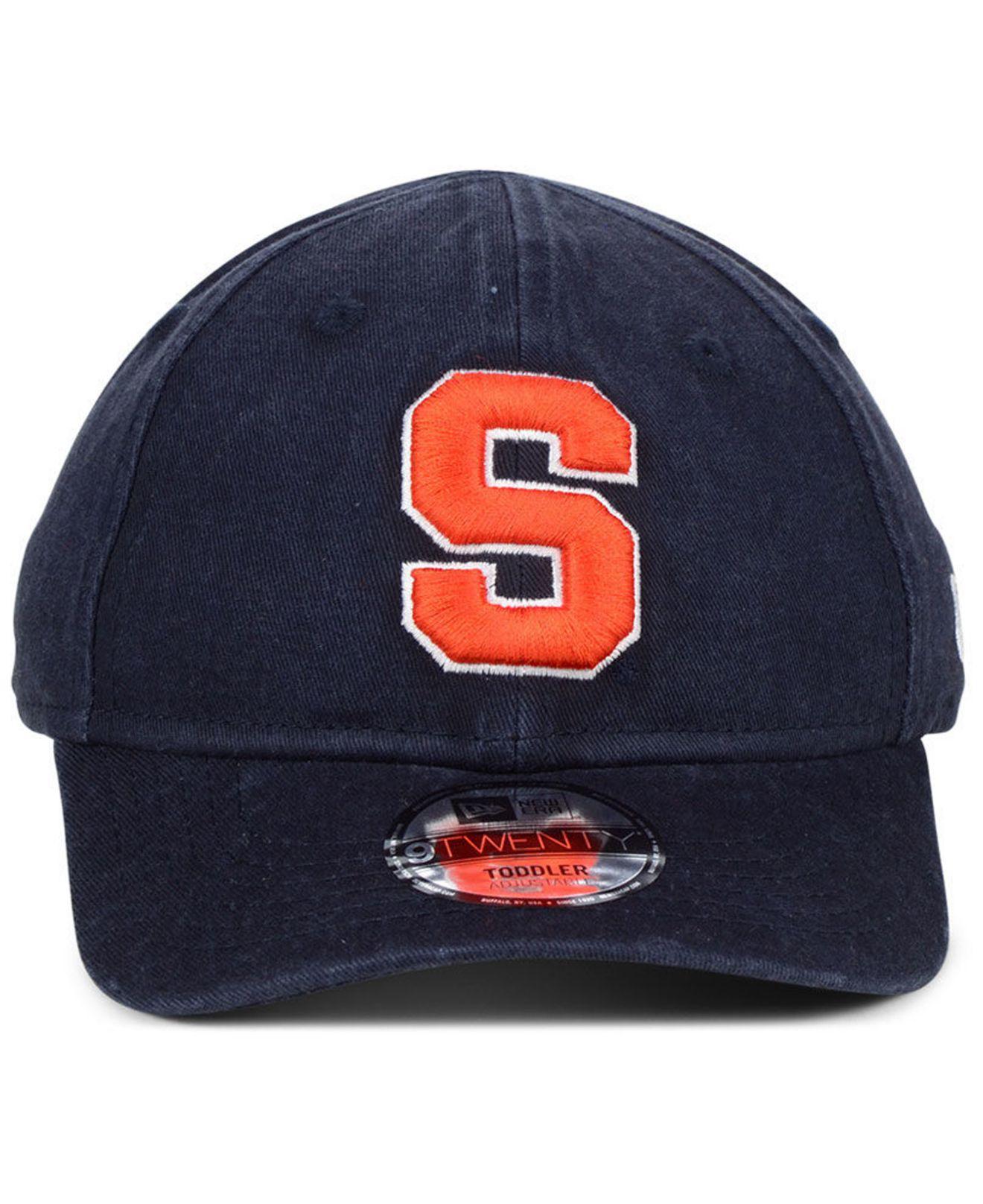 online store fd560 a98f6 ... best price lyst ktz toddlers syracuse orange junior 9twenty cap in blue  for men f2f37 5ea51