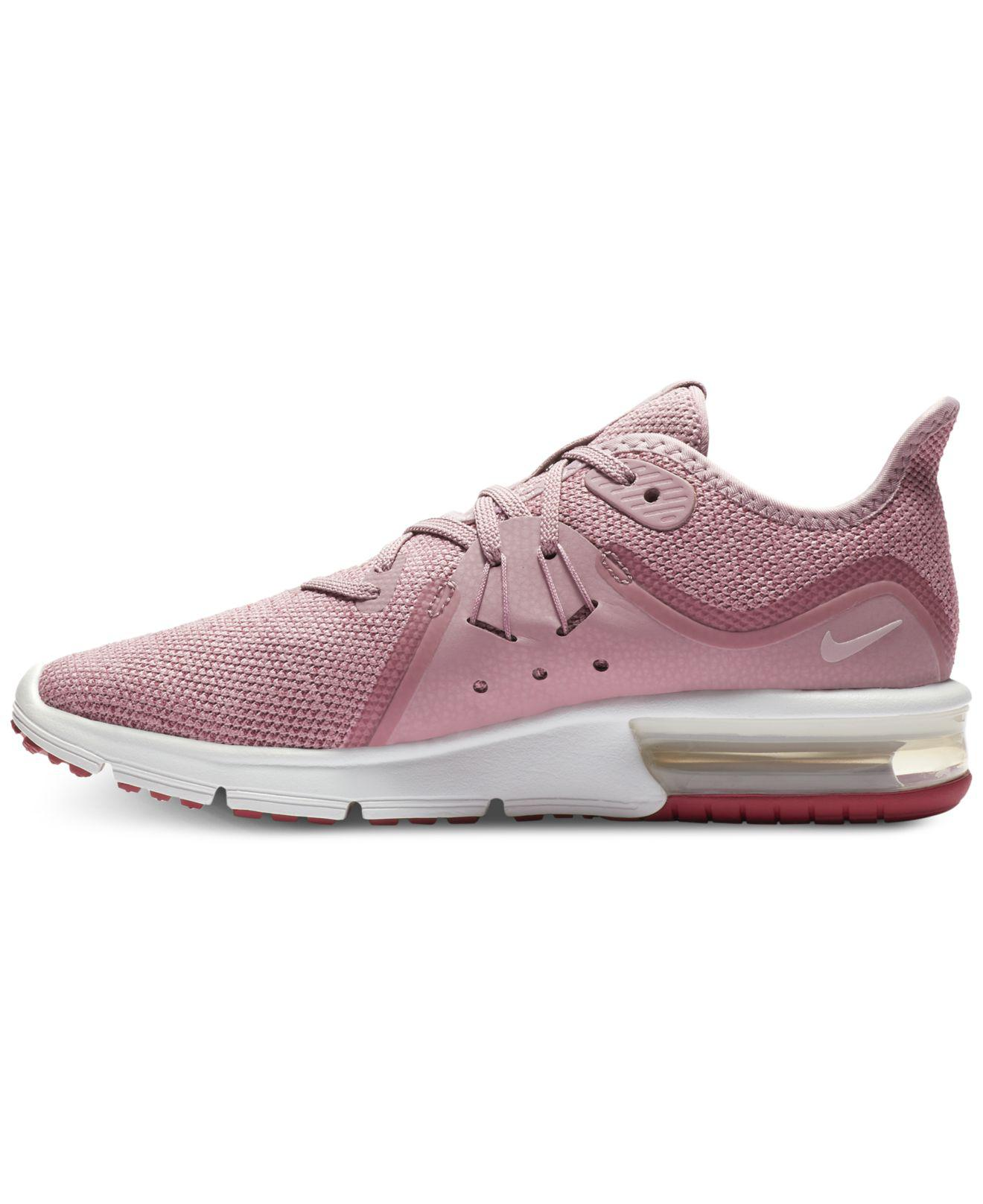 info for 7f8f0 b16d8 ... low price lyst nike air max sequent 3 running sneakers from finish line  f35b0 9f73a