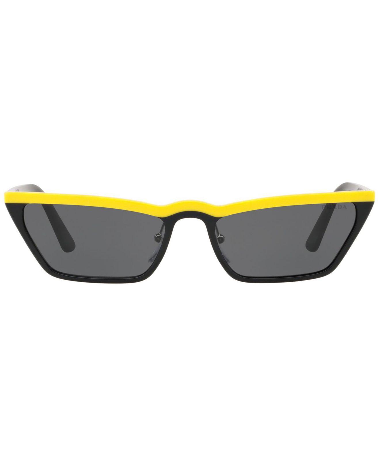 5559704295e86 ... authentic lyst prada sunglasses pr 19us 58 31ed9 29ca2