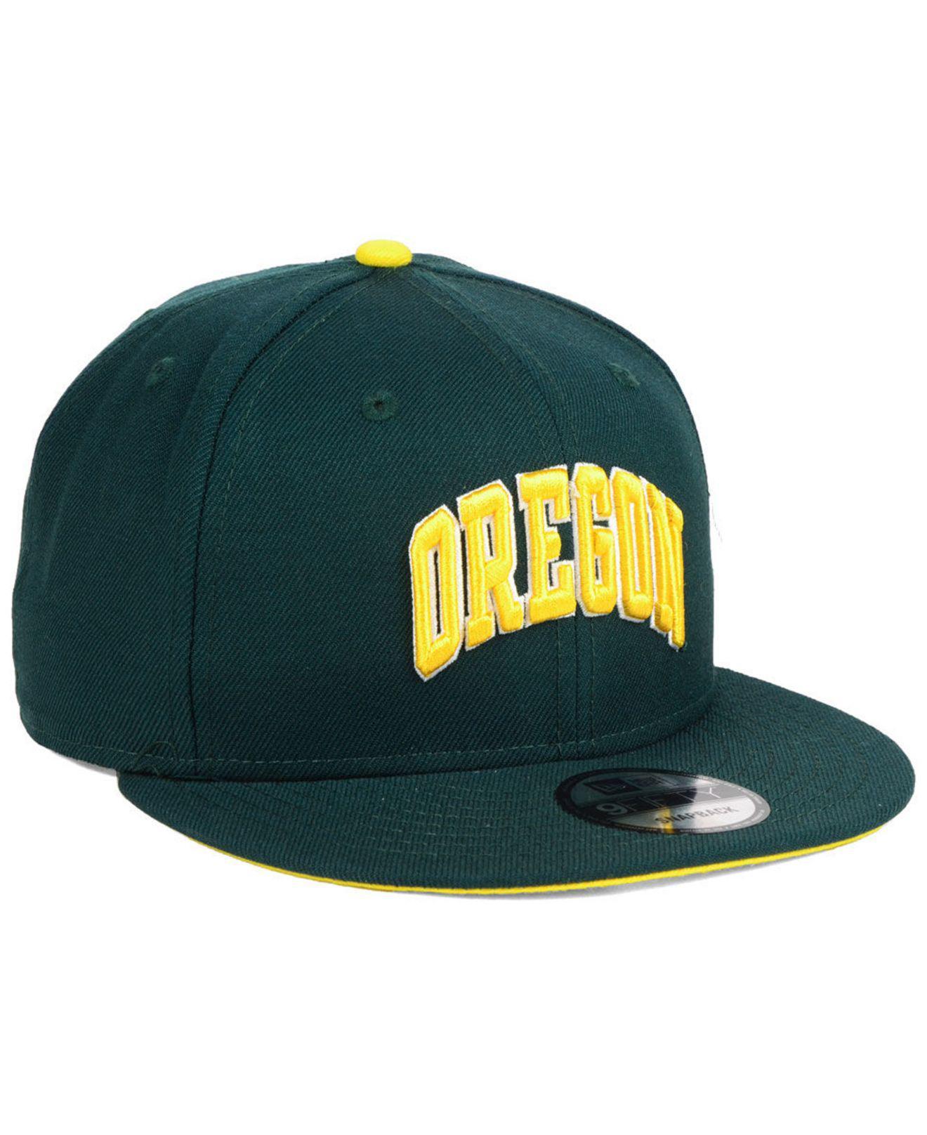 5f93e48d450 ... new style oregon ducks core 9fifty snapback cap for men lyst. view  fullscreen 90f12 fb2cc