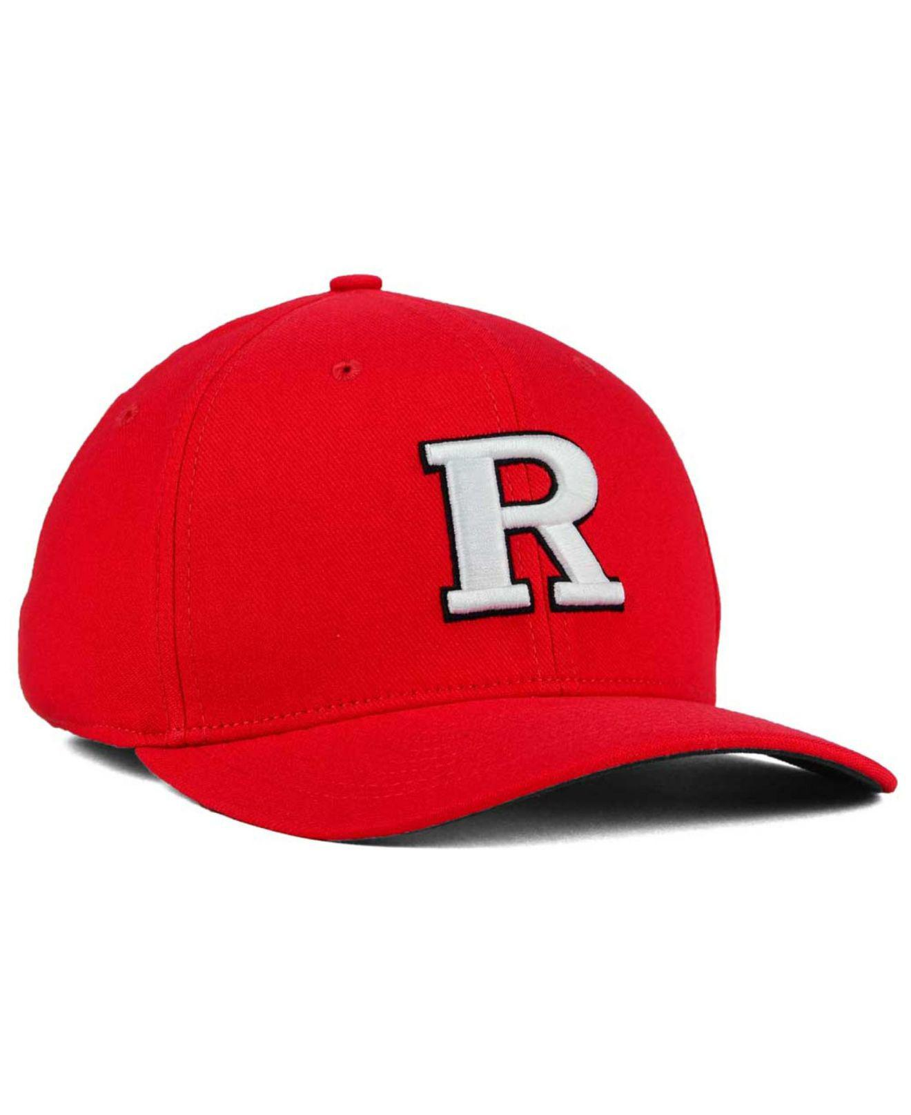 f3fc5ed88f143 sale lyst nike rutgers scarlet knights classic swoosh cap in red for men  1b1fa 05d3b