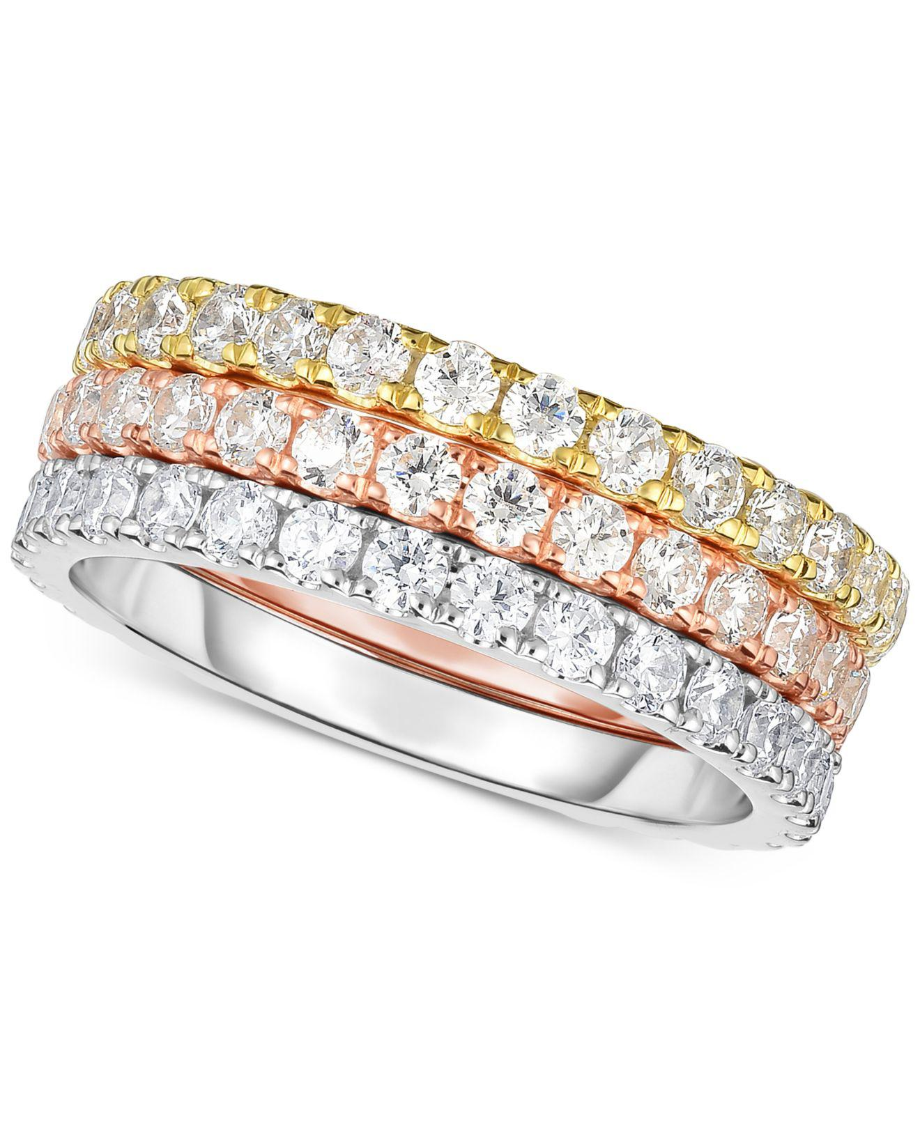 ring thin eternity wedding width stacking petite full incredible band bands