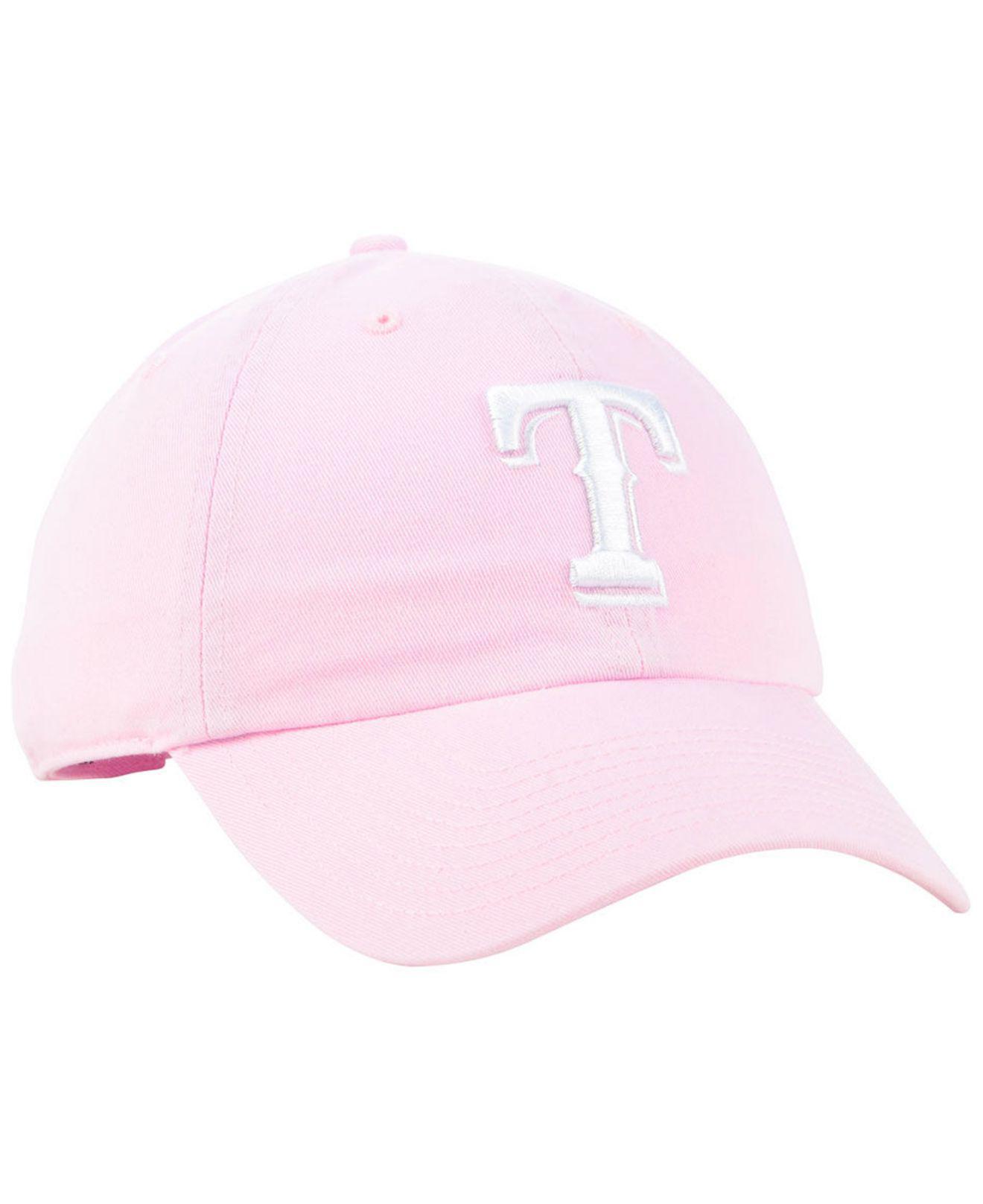1cb3e0c249c sweden texas rangers pink vs hat 76f81 1ad9e  australia texas rangers pink  clean up cap lyst. view fullscreen de522 67f01