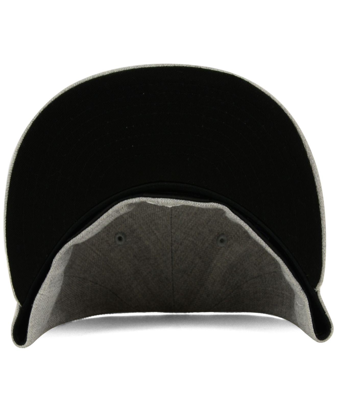 ... order seattle seahawks heather black white 59fifty cap for men lyst.  view fullscreen 6a1e7 ff864 0f4e1134d4bd