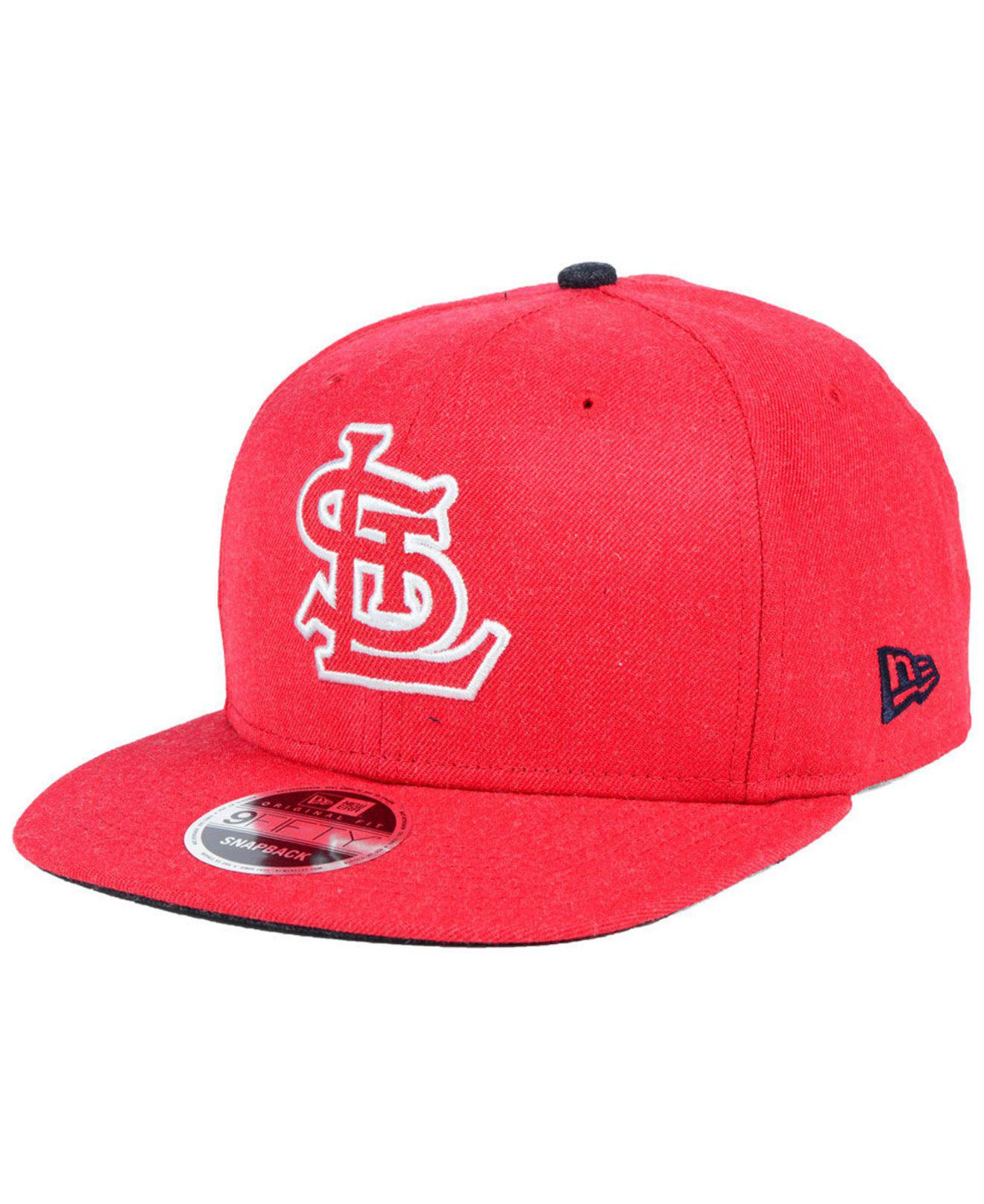 new products 13e0c 4b262 Lyst - KTZ St. Louis Cardinals Heather Hype 9fifty Snapback Cap in ...