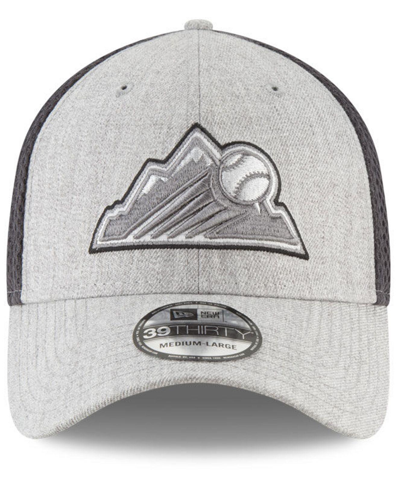 new styles 7018d 25399 Lyst - KTZ Colorado Rockies Heather Pop Neo 39thirty Cap in Gray for Men