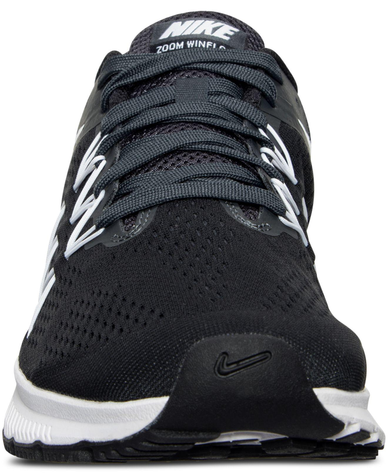 1ecb699fba705 Lyst - Nike Men s Air Zoom Winflo 3 Running Sneakers From Finish ...