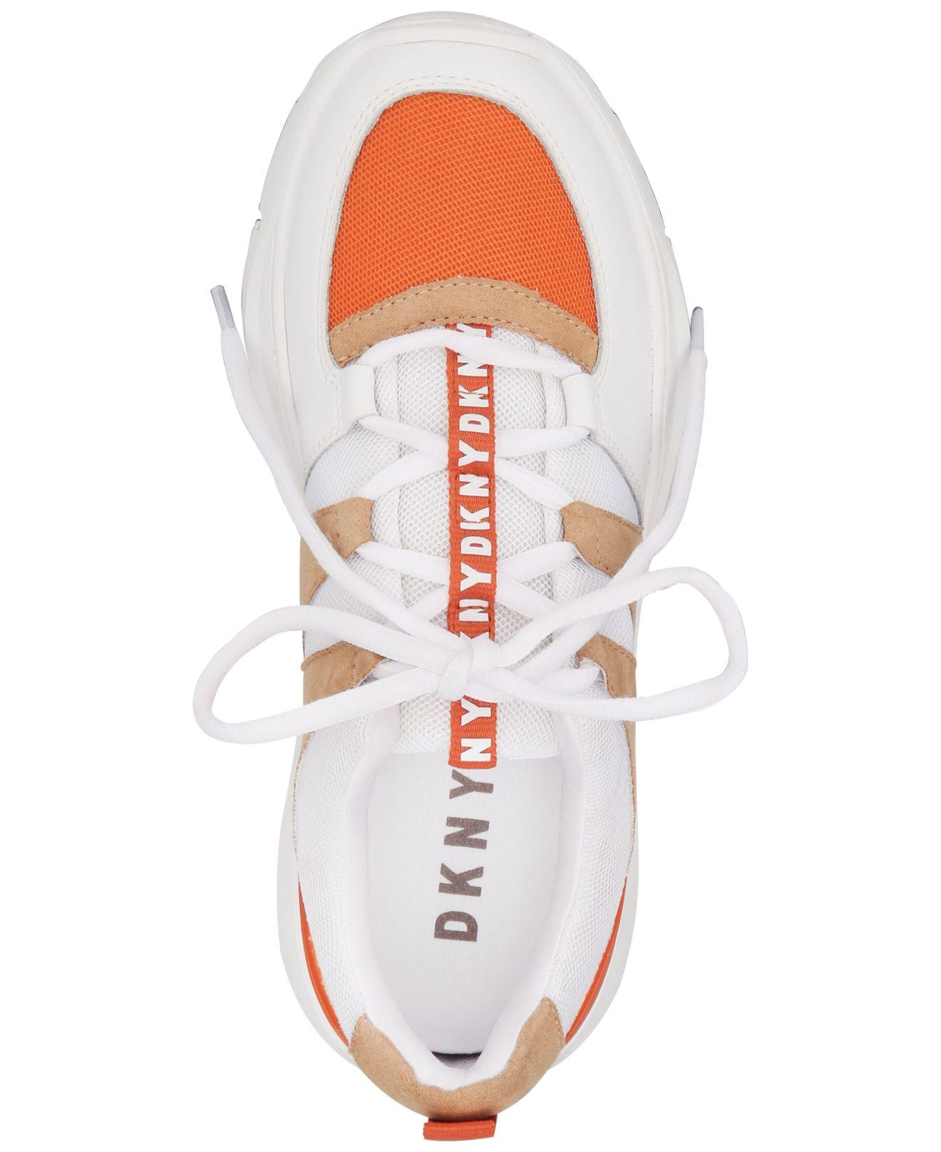 DKNY Leather Wes Dad Sneakers, Created