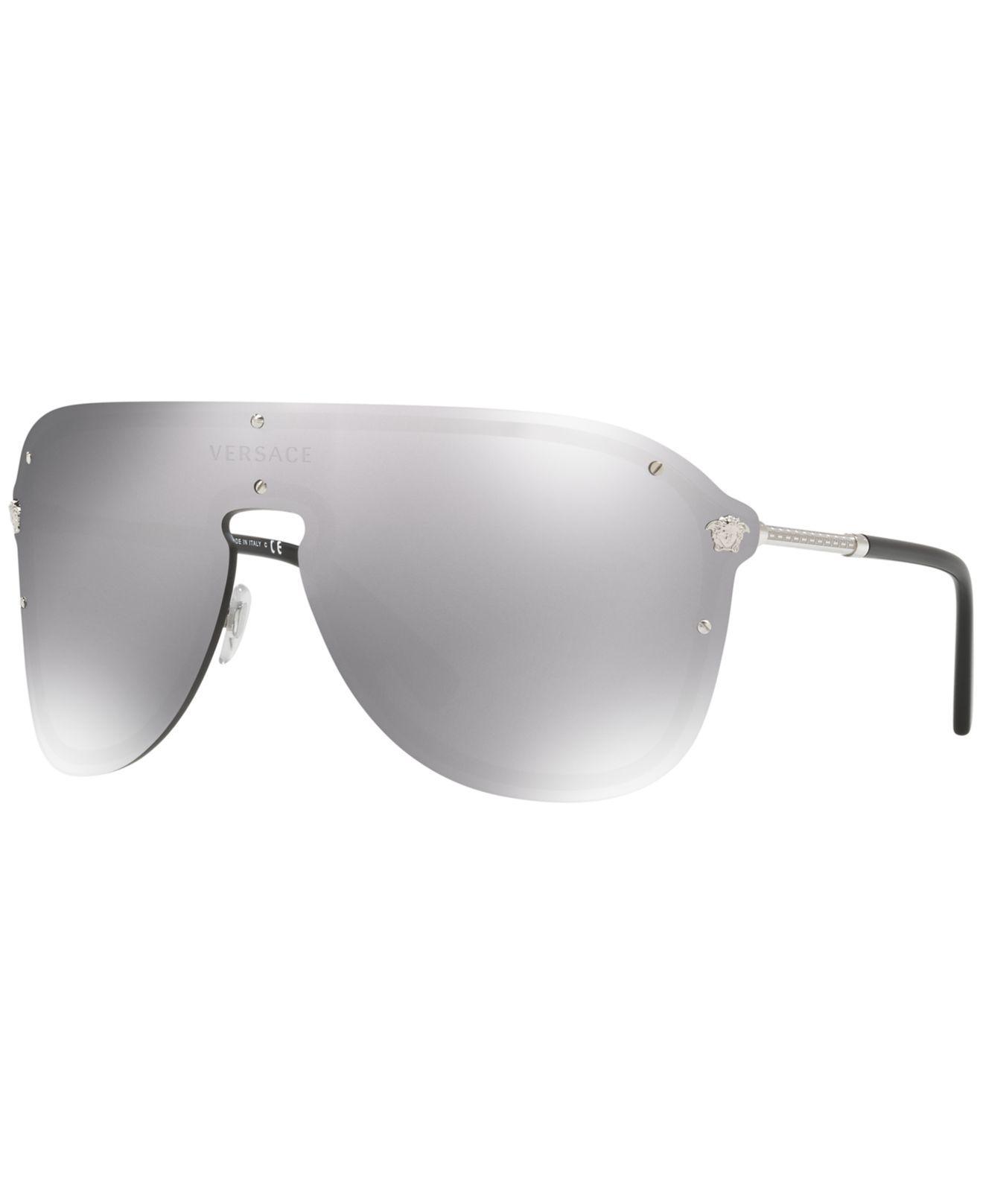 dab24a3271 Versace. Women s Gray Sunglasses ...