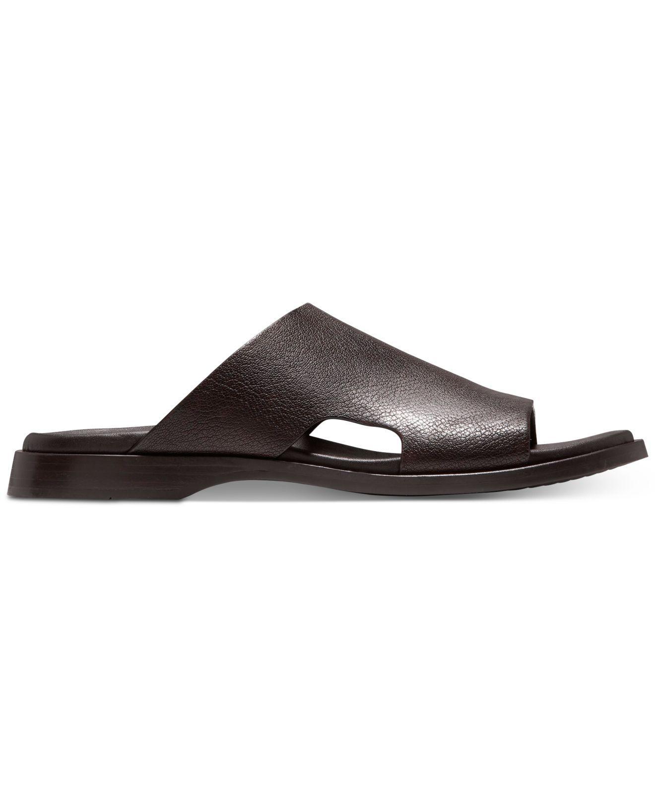 984d4de7199fd Lyst - Cole Haan Goldwyn 2.0 Slide Sandals in Brown for Men