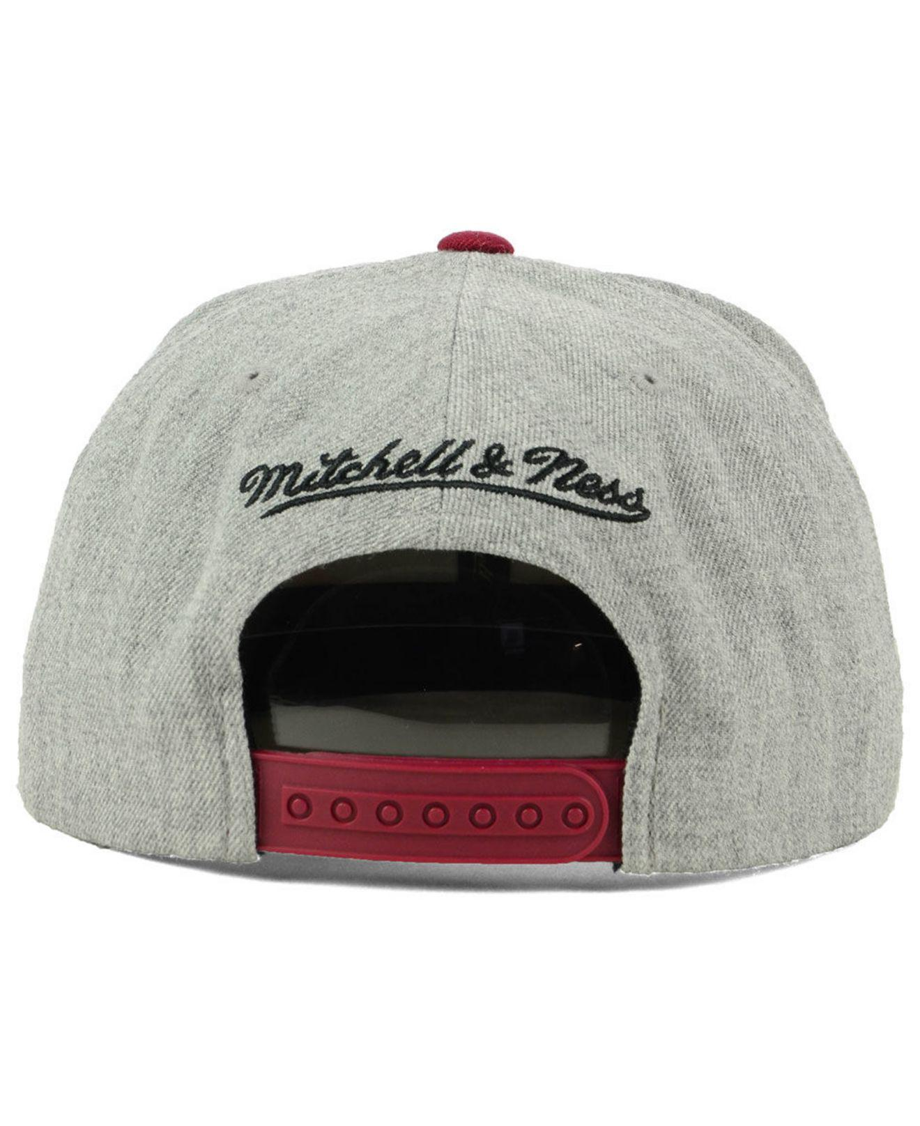 best loved 05365 da7ee ... ireland mitchell ness multicolor cleveland cavaliers cropped heather snapback  cap for men lyst. view fullscreen
