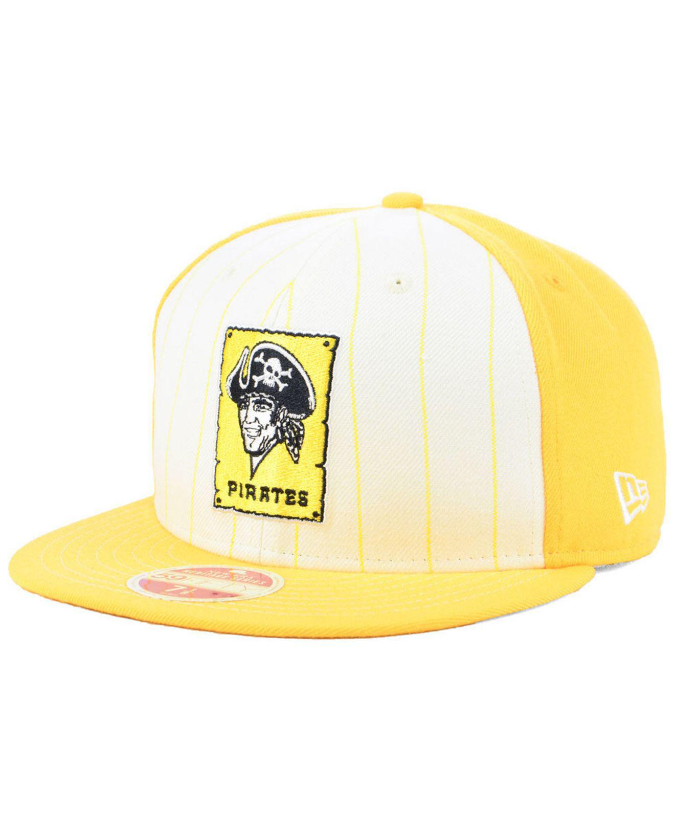 the best attitude ef3e3 cd205 KTZ. Men s Pittsburgh Pirates Vintage Front 59fifty Fitted Cap