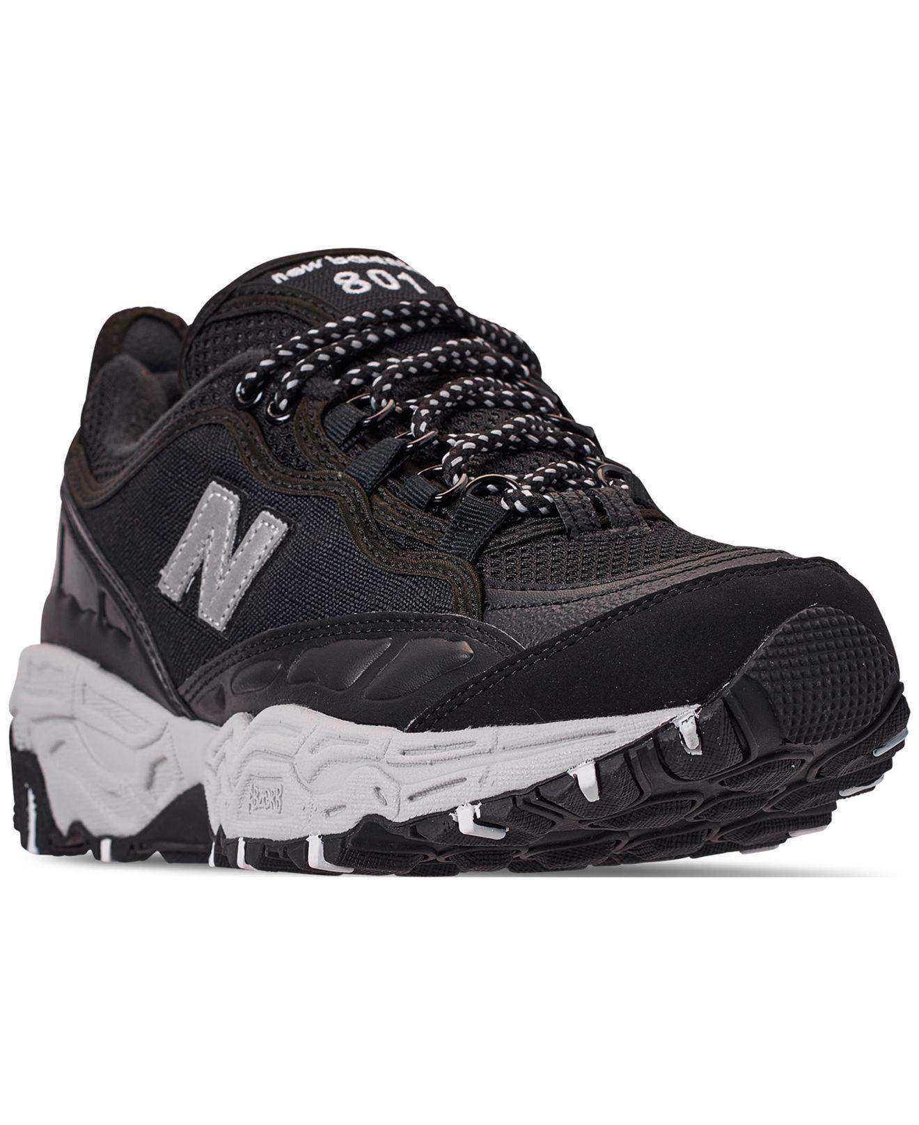 f94827d3b Lyst - New Balance 801 Trail Sneakers From Finish Line in Black for Men