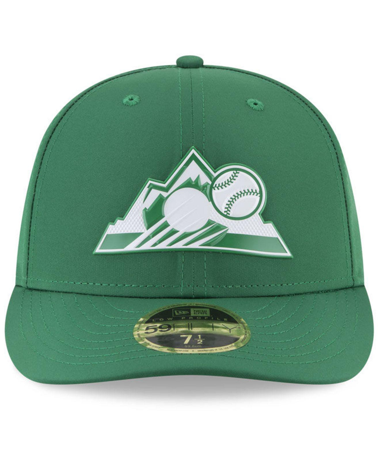 finest selection 4b86d 0465b ... best price lyst ktz colorado rockies st. pattys day pro light low crown  59fifty fitted