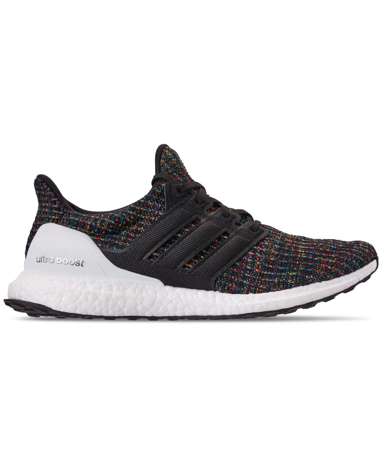 11b1627a3 Lyst - adidas Men s Ultraboost Knit Low-top Sneakers in Black for Men - Save  20%