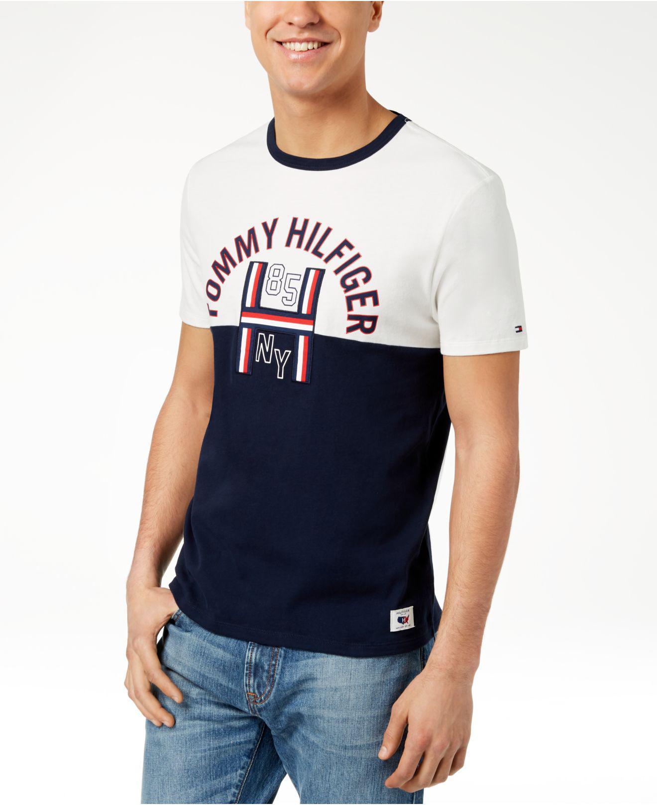 7d128b8a15a8b Tommy Hilfiger Mens Old Skool Graphic Print T Shirt – Rockwall Auction