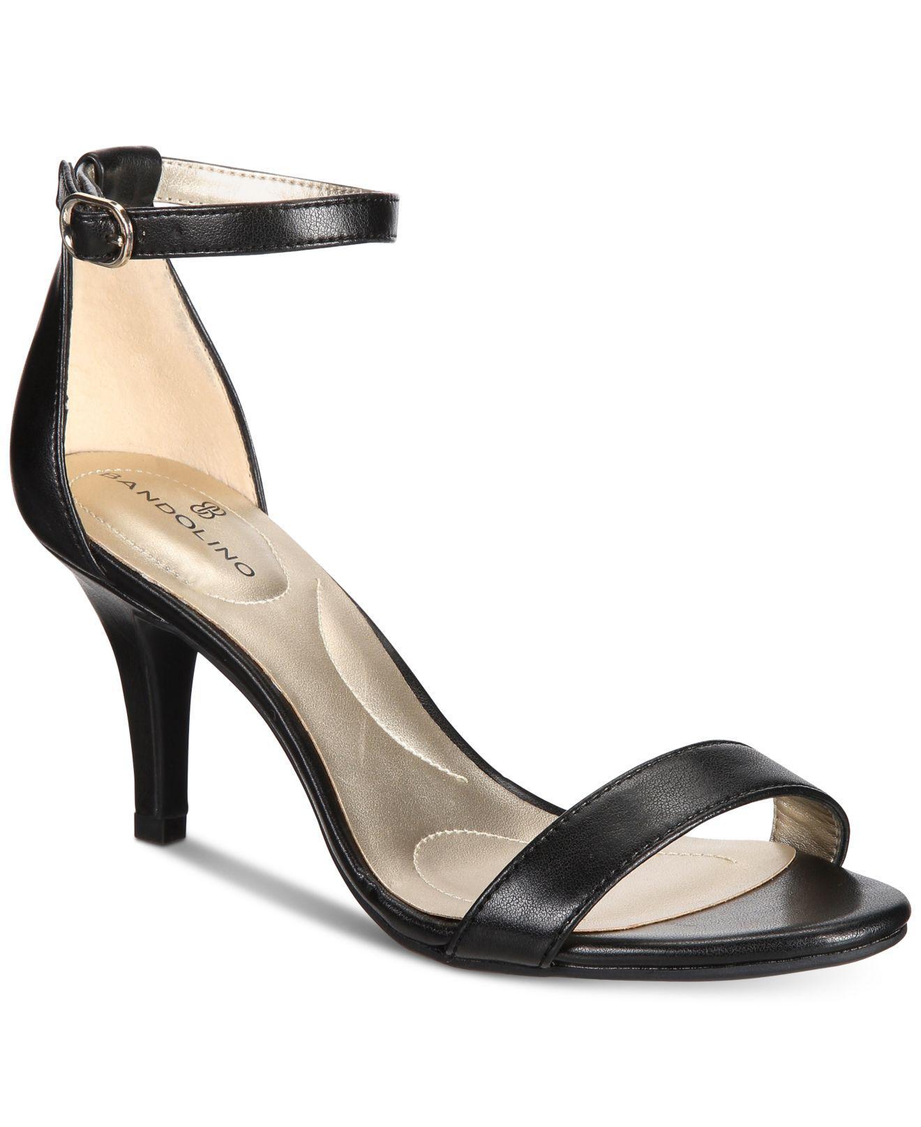 850b4548122dbc Lyst - Bandolino Madia Sandals in Black