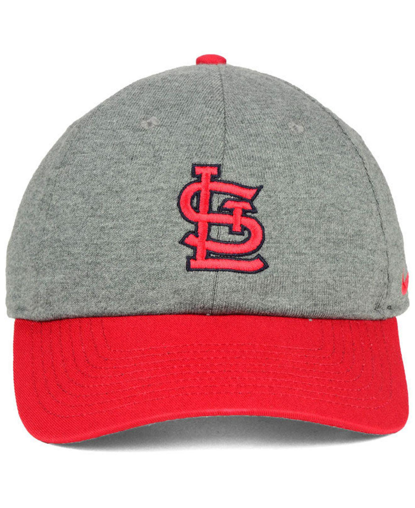 new concept d0121 7b1d1 ... reverse new day snapback cap for men lyst. view fullscreen 90588 4e89d   50% off lyst nike st. louis cardinals 2 tone heather cap for men ce3bf