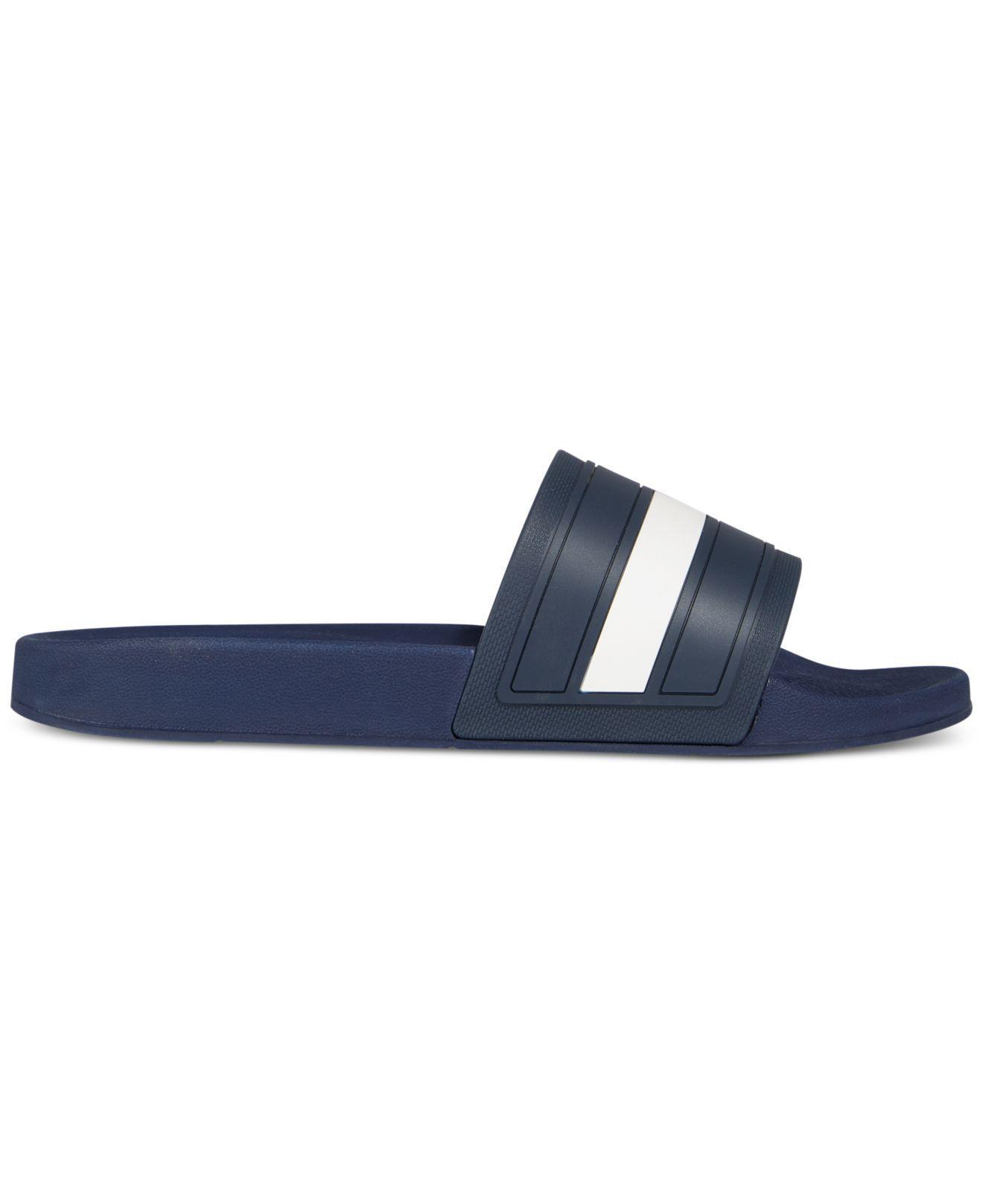 f462152a3 Lyst - Tommy Hilfiger Men s Elwood Slide Sandals in Blue for Men