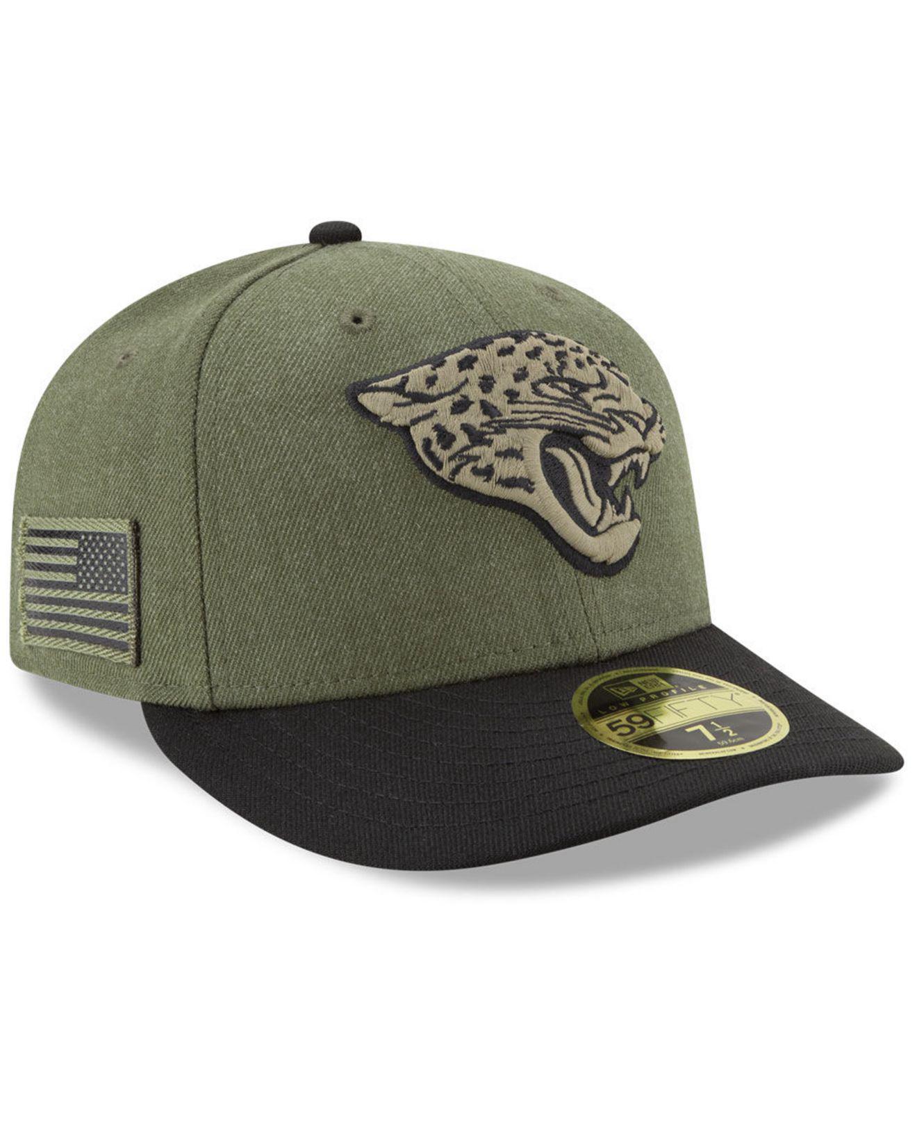 Lyst - KTZ Jacksonville Jaguars Salute To Service Low Profile ... 64c9470f0