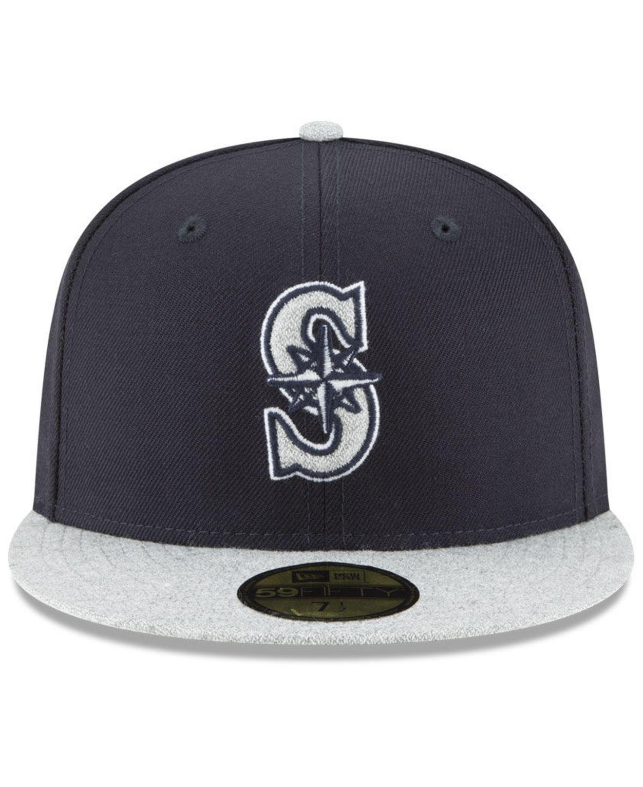 ... free shipping lyst ktz seattle mariners pop color 59fifty fitted cap in  blue for men eda29 12aeaf5fd652