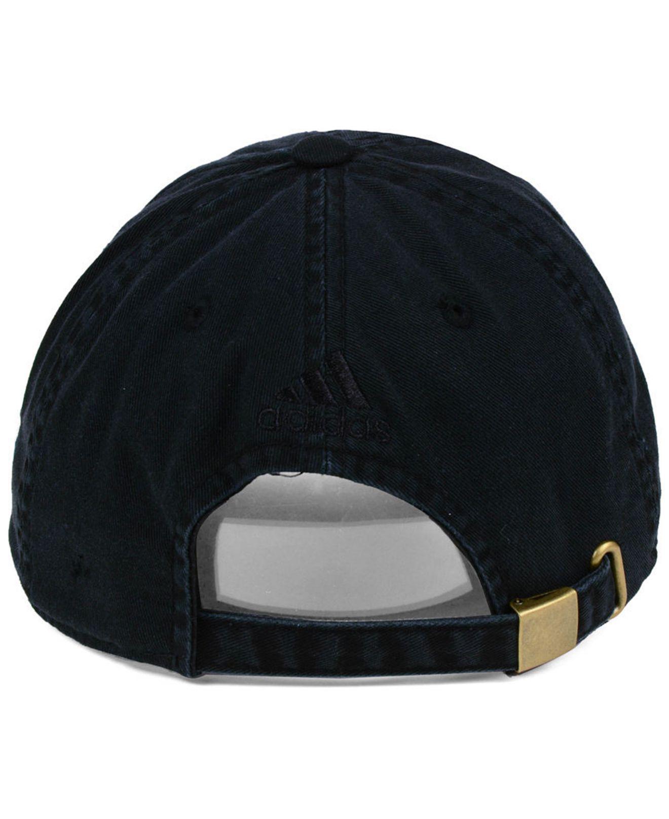 ... get adidas black minnesota united fc partial logo dad cap for men lyst.  view fullscreen 1d8310ea2163