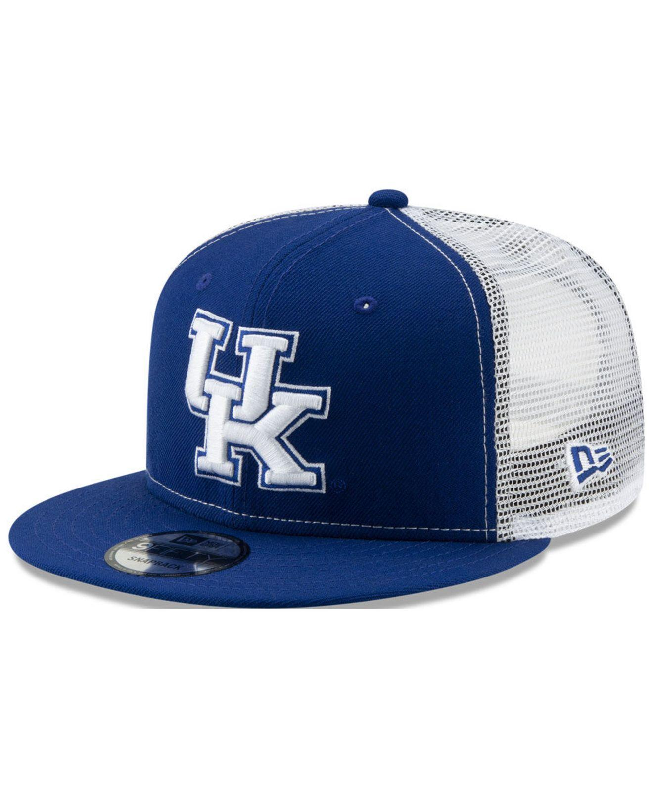 pretty nice 2e859 89075 KTZ. Men s Blue Kentucky Wildcats Tc Meshback Snapback Cap