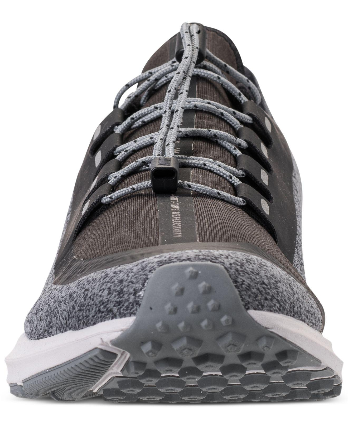 fd195a4bd625 Lyst - Nike Air Zoom Winflo 5 Shield Running Sneakers From Finish Line in  Black