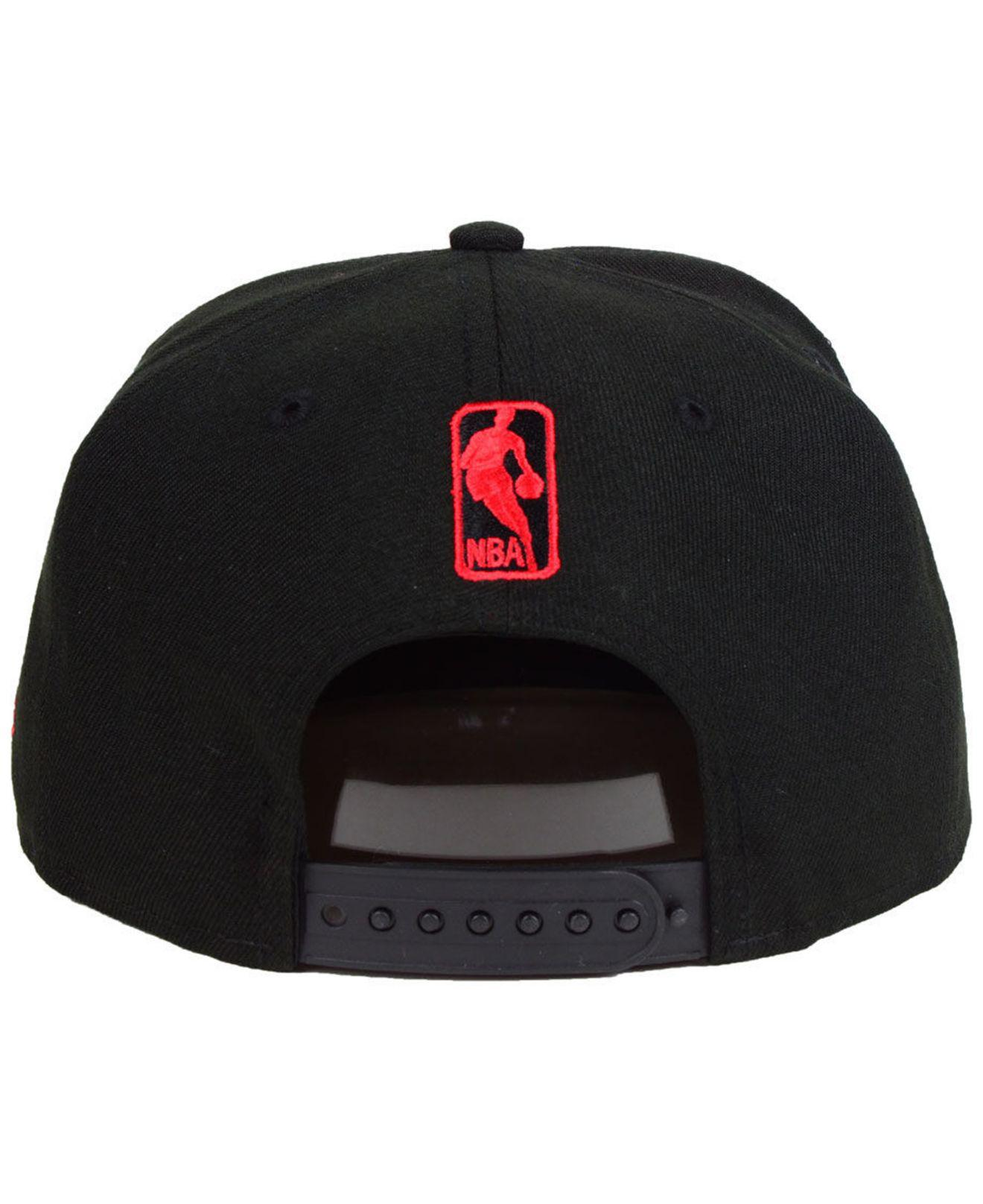 huge discount 4e5f8 4c9b6 Lyst - KTZ Los Angeles Clippers Circular 9fifty Snapback Cap in Black for  Men