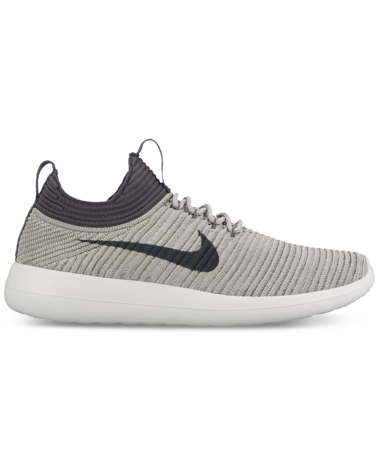 watch 52865 f63ed Lyst - Nike Women s Roshe Two Flyknit V2 Casual Sneakers From Finish ...