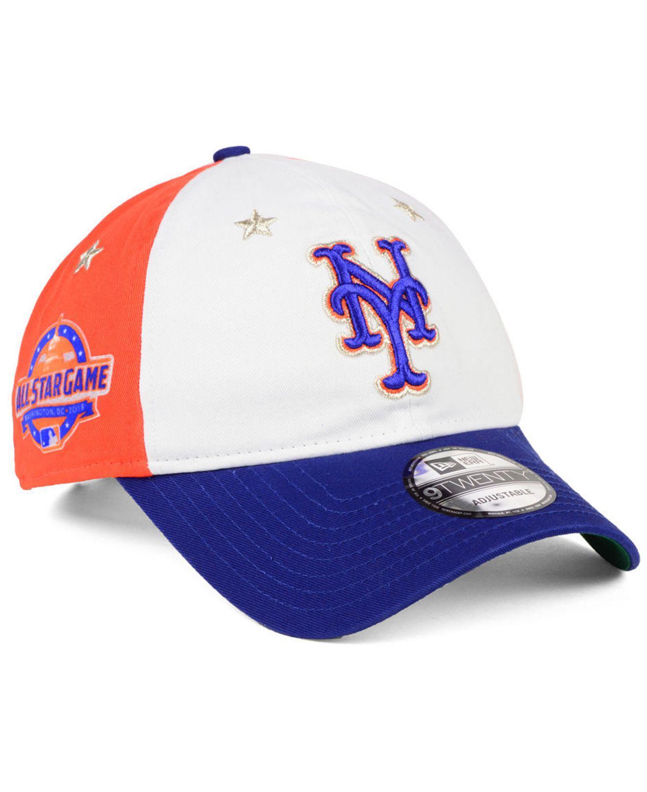 release date 12451 7aff7 KTZ. Men s New York Mets All Star Game 9twenty Strapback Cap 2018