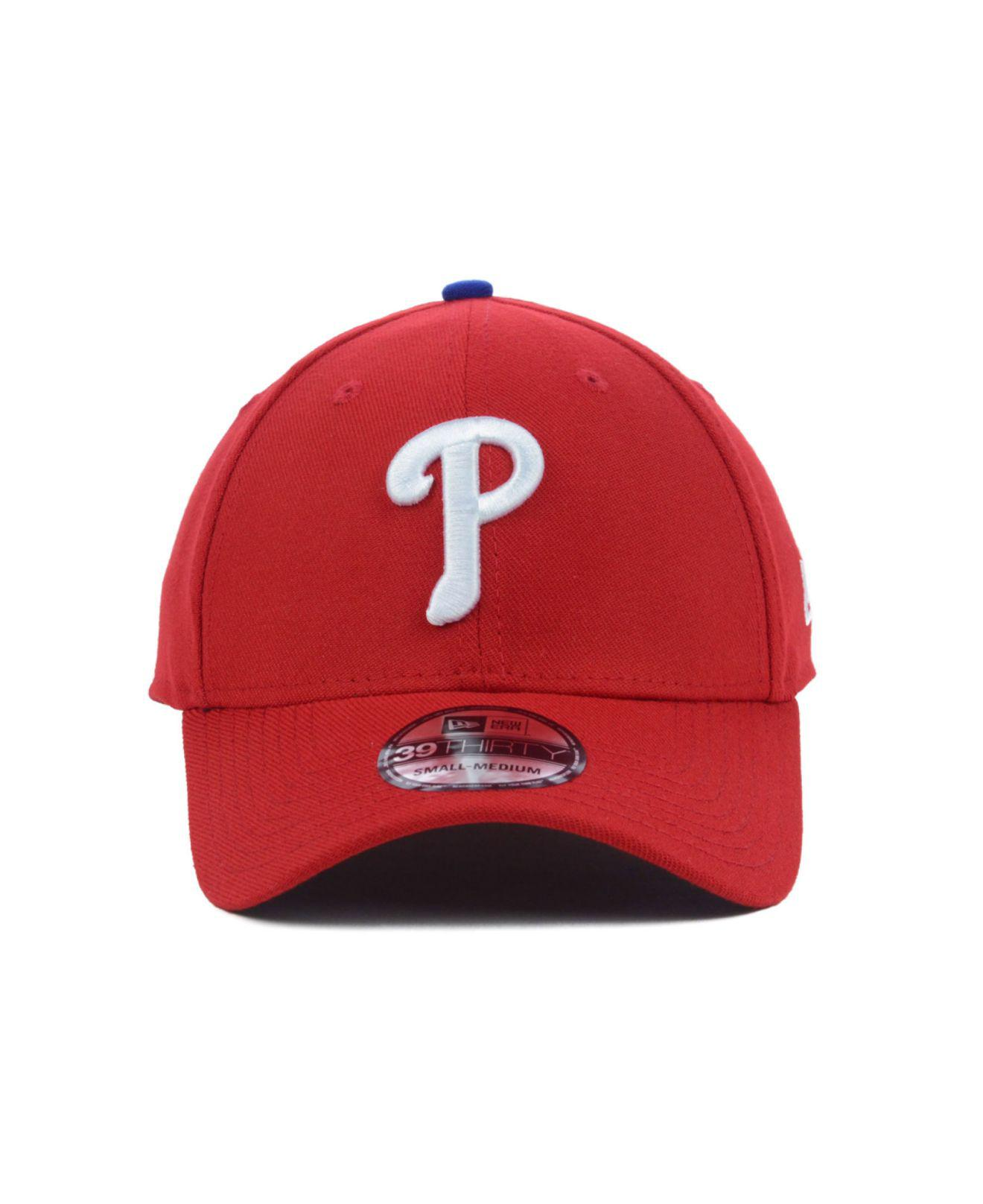 d3fce1d8d7a Lyst - KTZ Philadelphia Phillies Mlb Team Classic 39thirty Cap in Red for  Men
