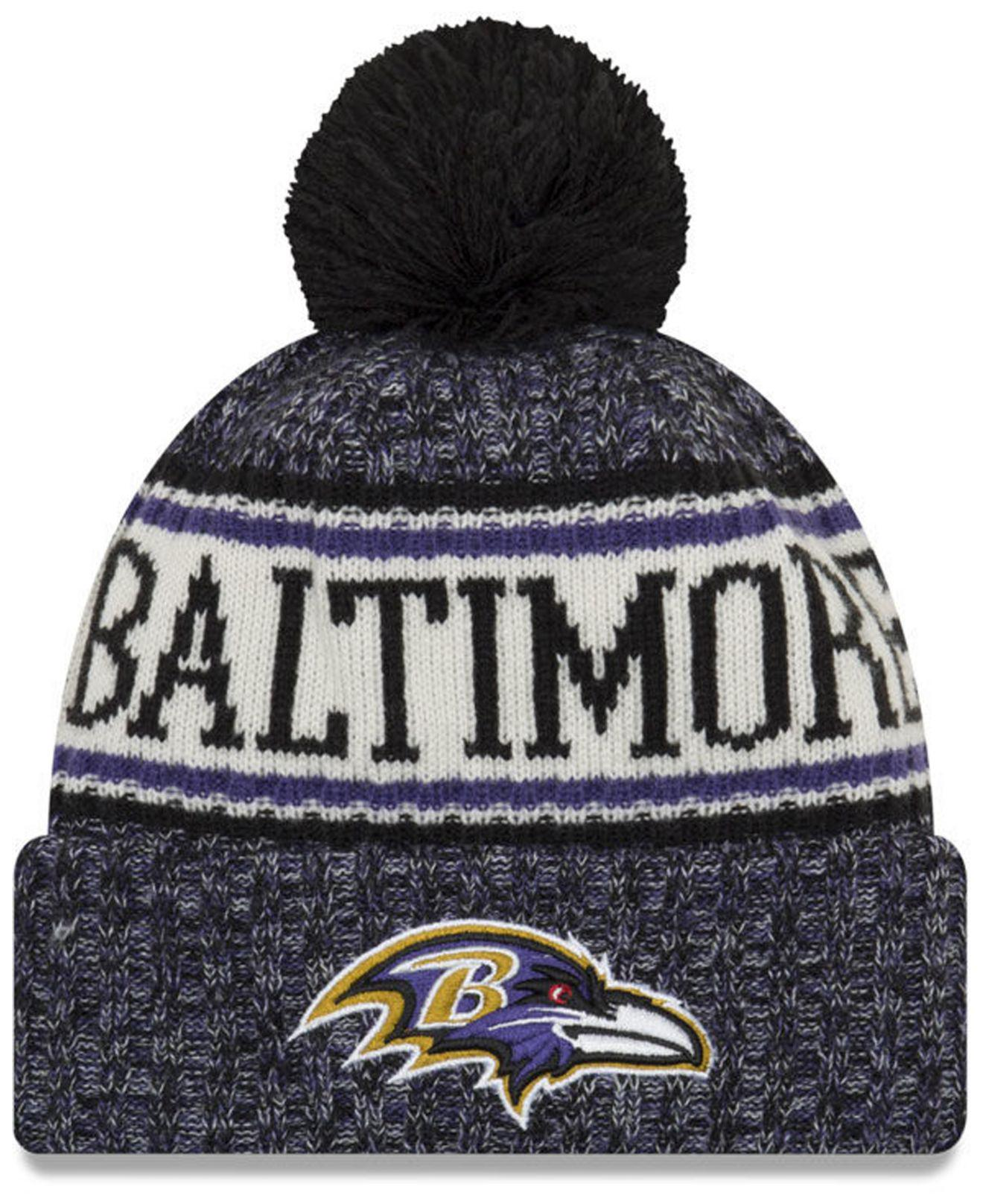Lyst - KTZ Baltimore Ravens Sport Knit Hat in Purple for Men 34adda2f5
