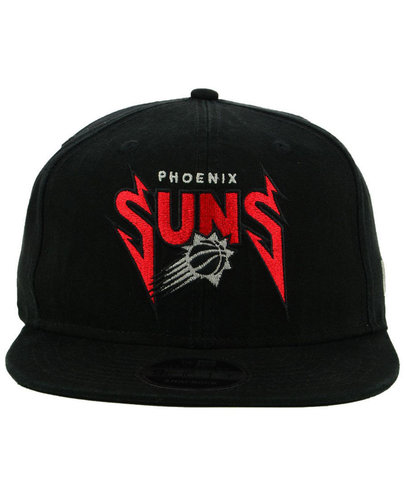 finest selection 23ae5 cd473 Lyst - KTZ Phoenix Suns 90s Throwback Groupie 9fifty Snapback Cap in Black  for Men