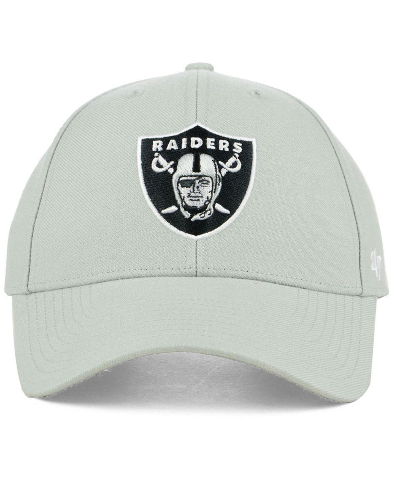 promo code 05bbe b7632 ... coupon code for lyst 47 brand oakland raiders mvp cap in gray for men  5cbe1 8156e