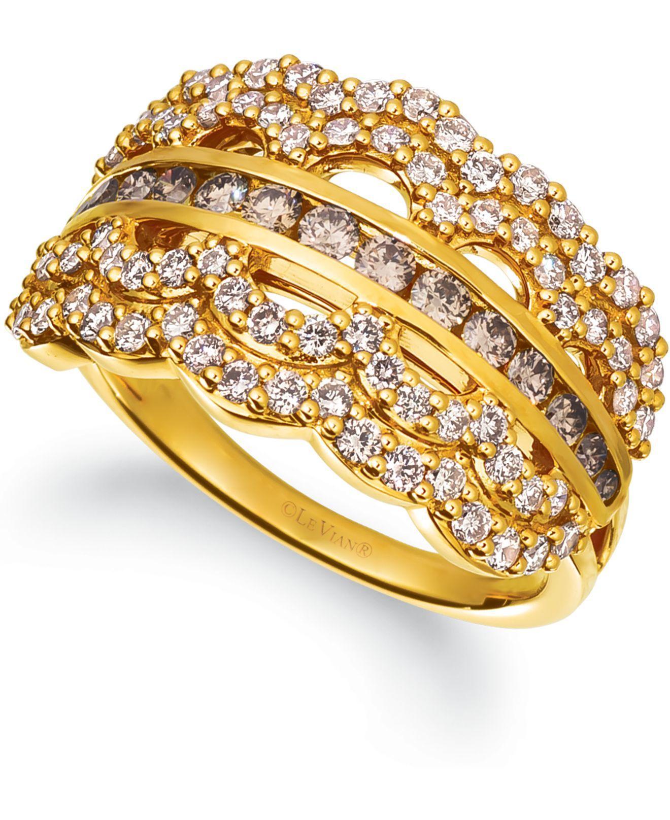 Le Vian ® Nude Diamond Statement Ring (5/8 Ct. T.w.) In