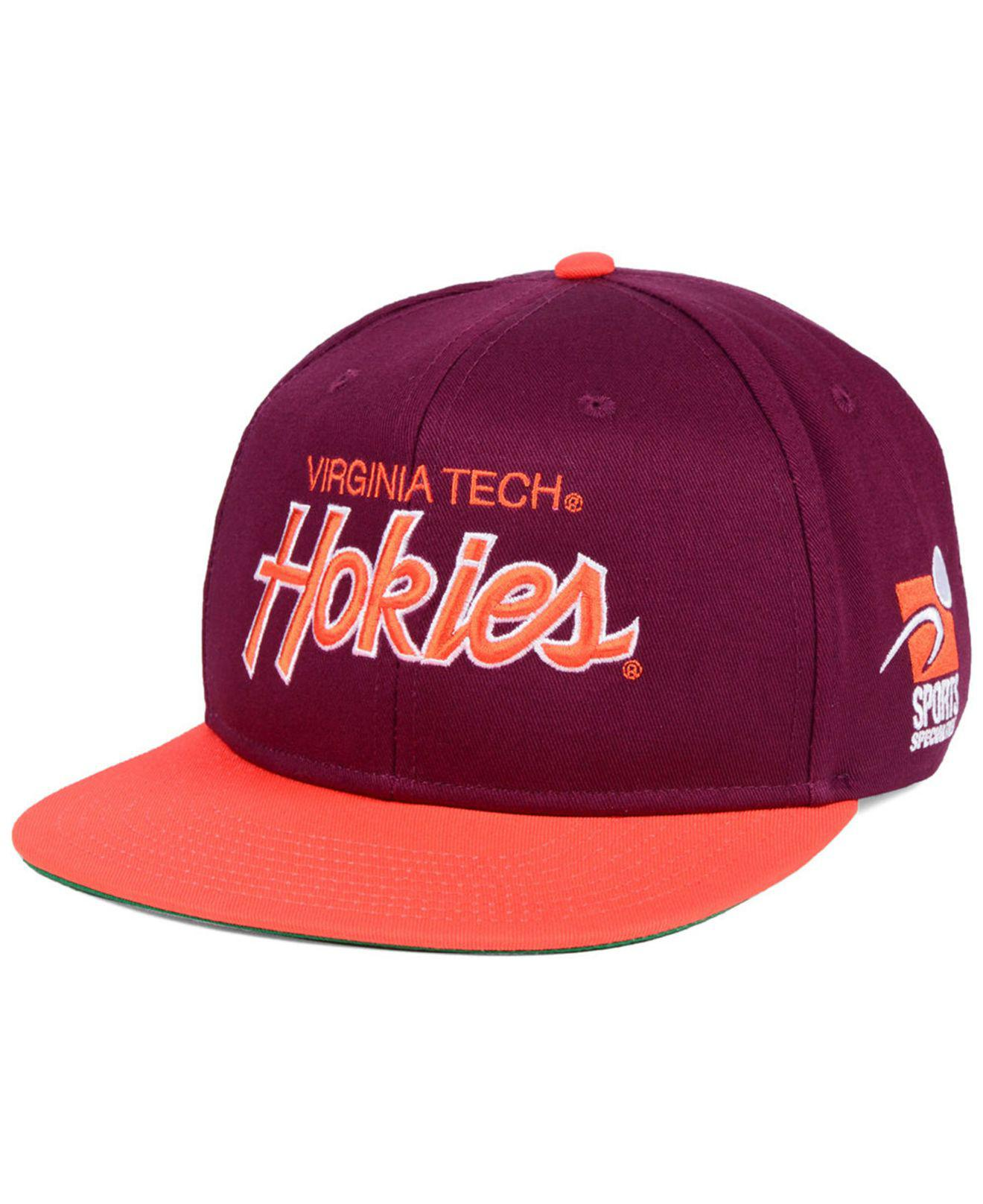 detailed look f0f3a df455 ... germany nike. mens virginia tech hokies sport specialties snapback cap  5f245 45ea9