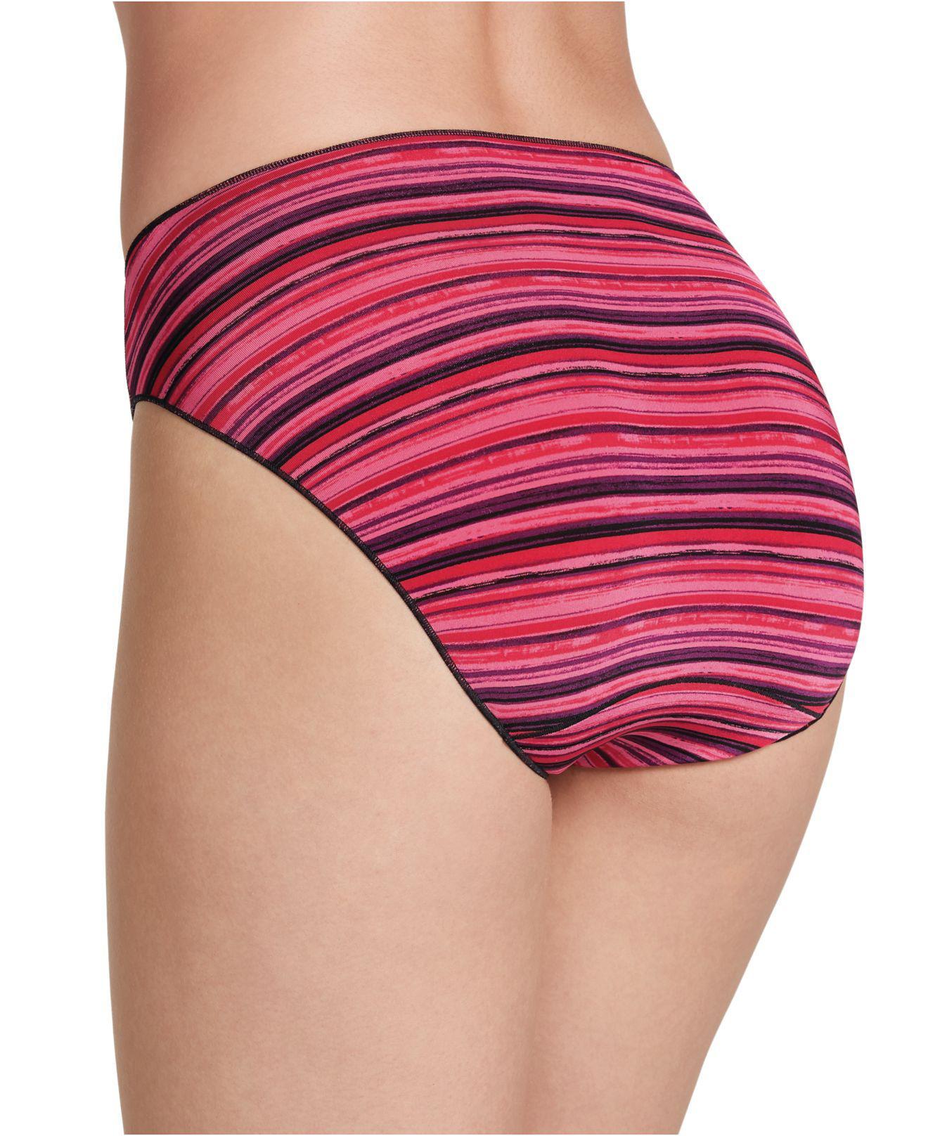 Lyst Jockey No Panty Line Promise Bikini 1370 In Red