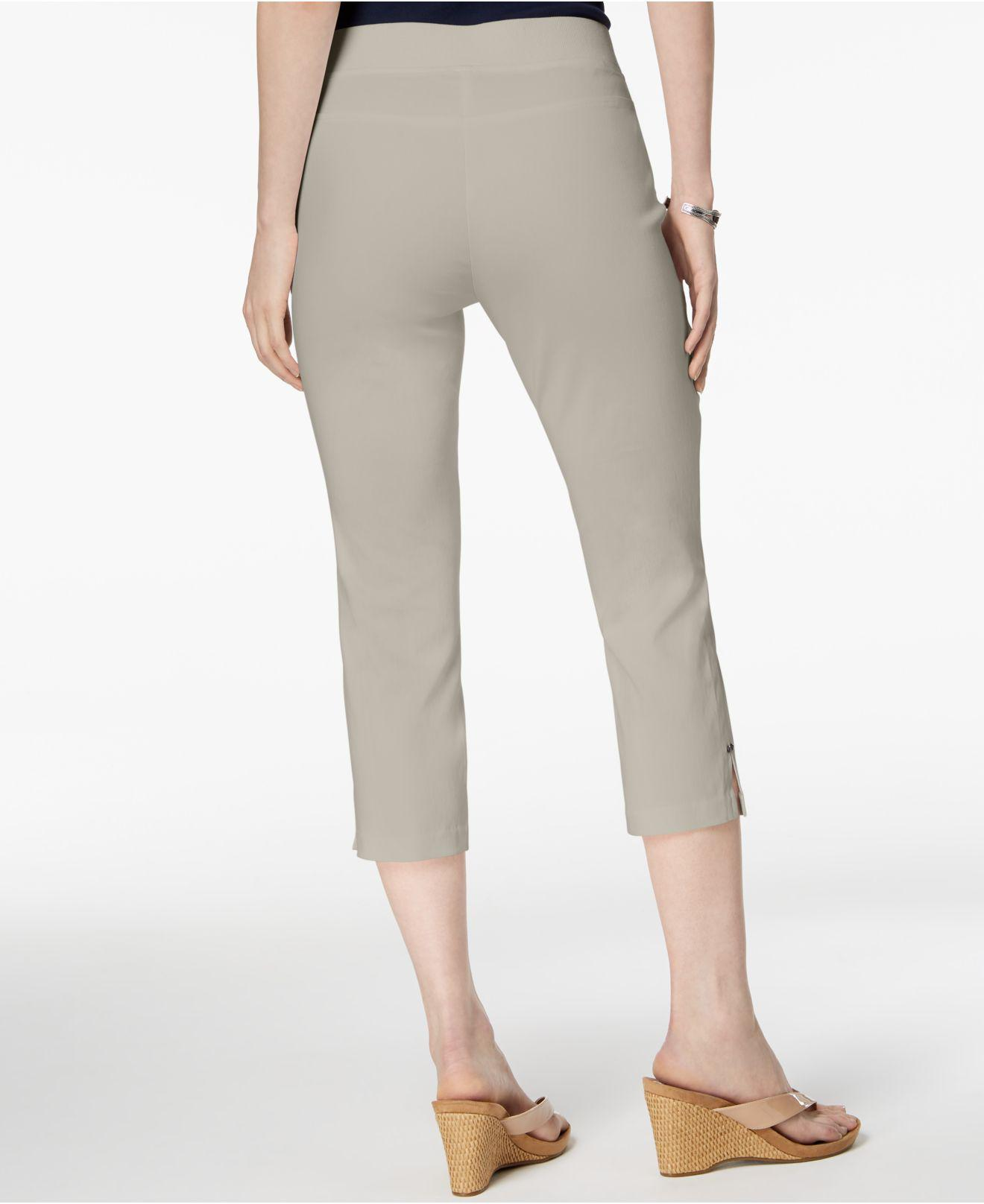 2072a05fe05a26 Lyst - Style & Co. Petite Pull-on Capri Pants, Created For Macy's