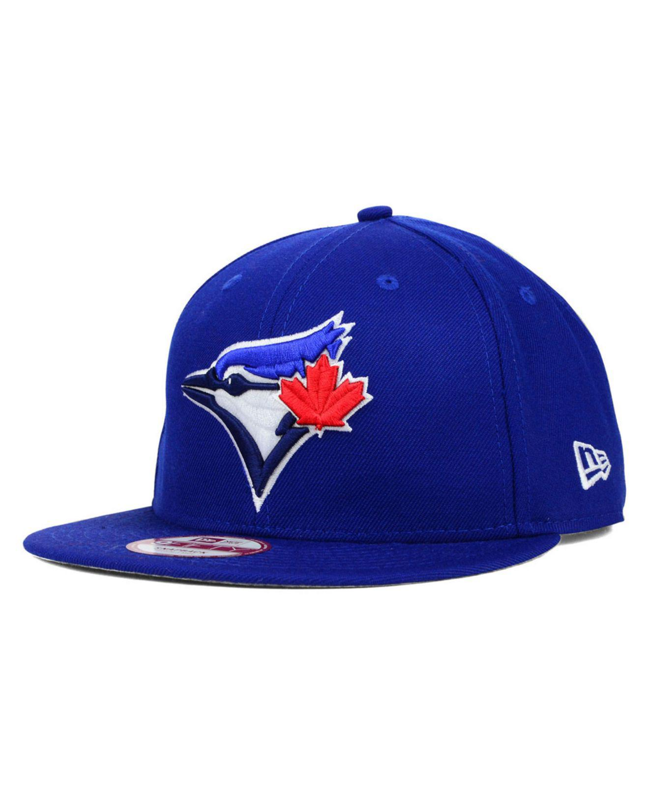 detailed images in stock picked up KTZ Wool Toronto Blue Jays 2 Tone Link 9fifty Snapback Cap for Men ...