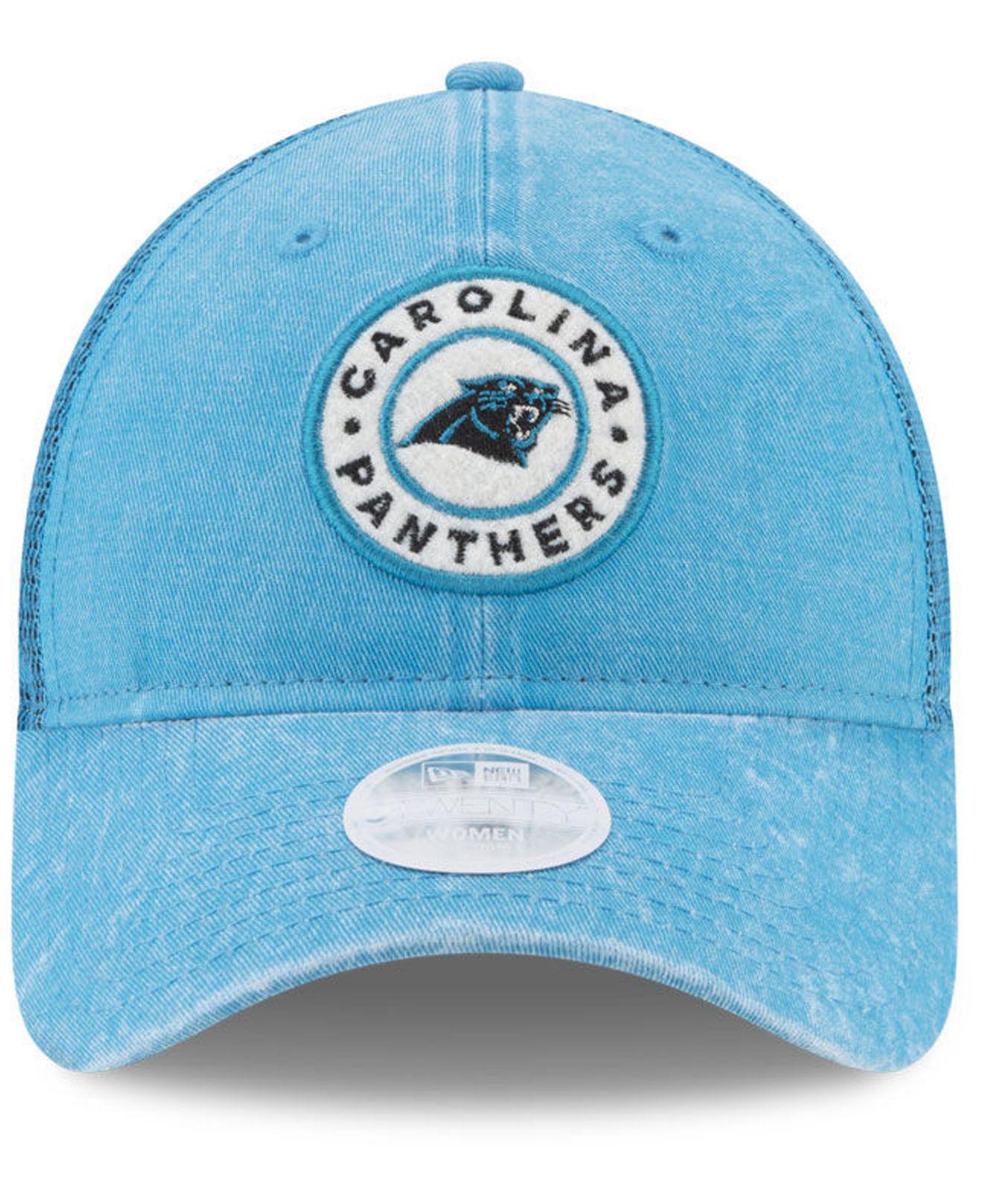 sports shoes 71593 0a223 ... buy lyst ktz womens perfect patch 9twenty snapback cap in blue 8cdb4  0ab52