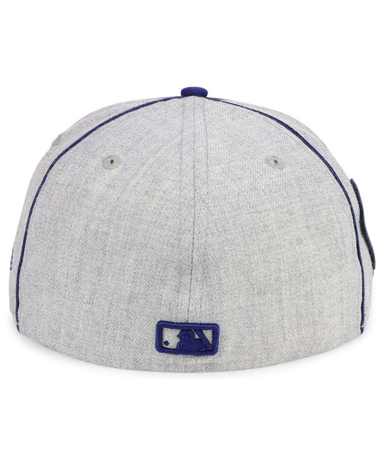 best service 7e65a 1006f ... france lyst ktz milwaukee brewers stache 59fifty fitted cap for men  58462 cba3e