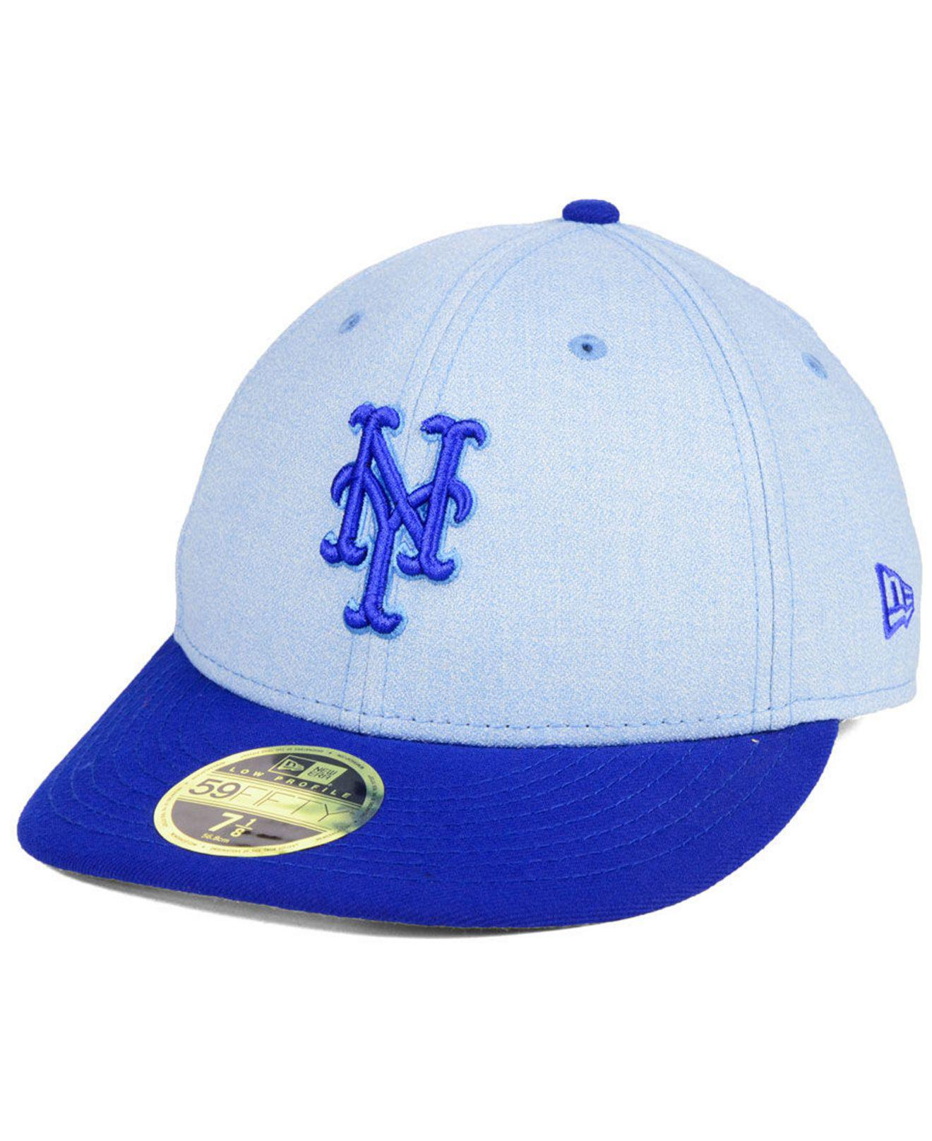 lowest price 66ae4 4d20d ... discount ktz. mens blue new york mets fathers day low profile 59fifty  cap 57dab 8c95a