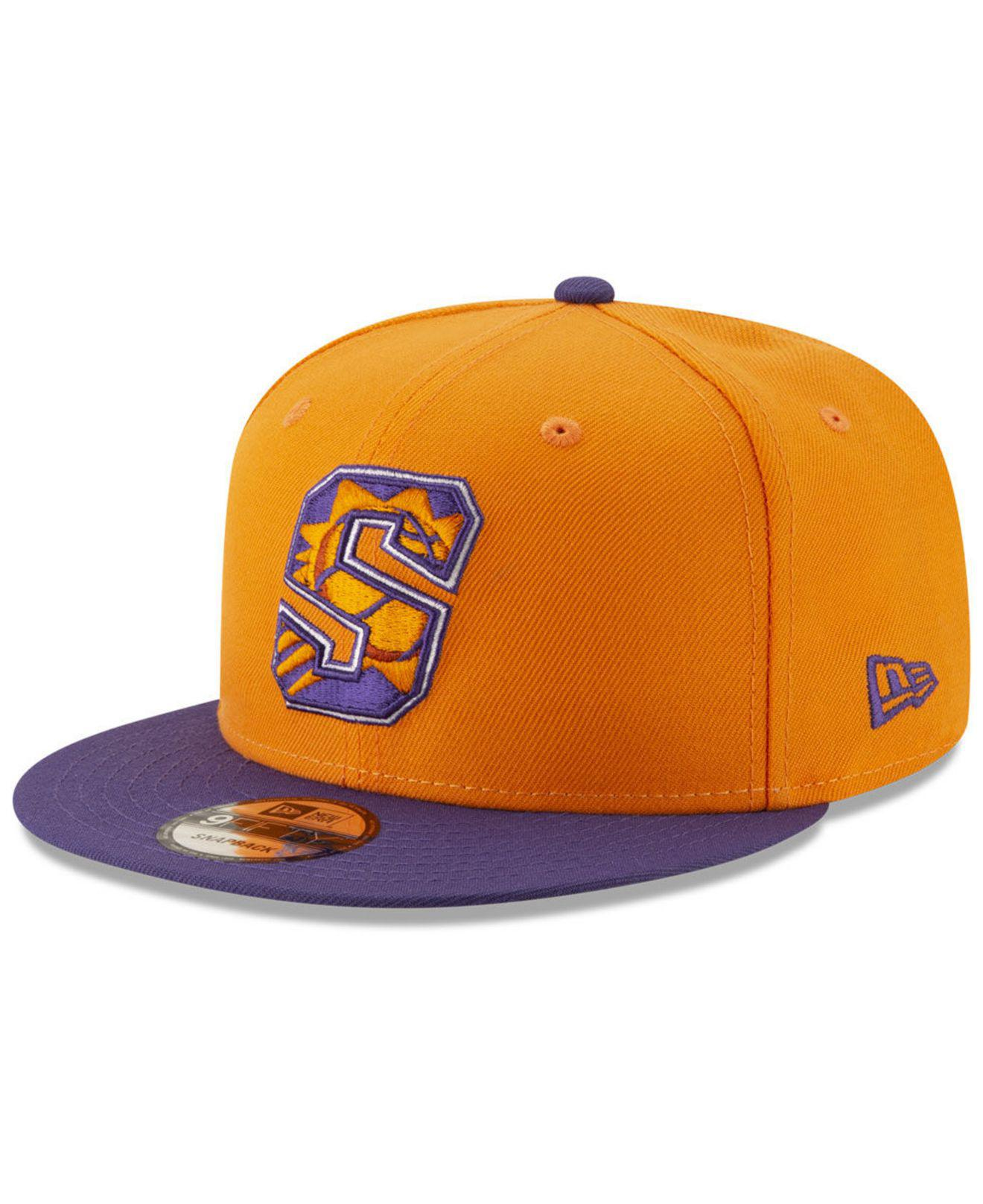 best service 1b831 9ffa5 ... canada ktz. mens orange phoenix suns light city combo 9fifty snapback  cap 1e455 6f123
