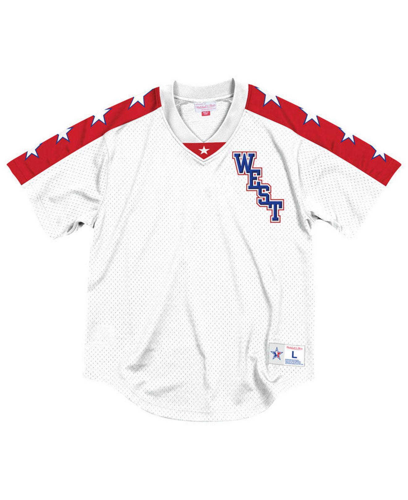 ... seasoned pro mesh button front jersey 0484d da882  germany mitchell ness.  mens white nba all star mesh v neck jersey 655e2 70ca3 74a9fc6eb