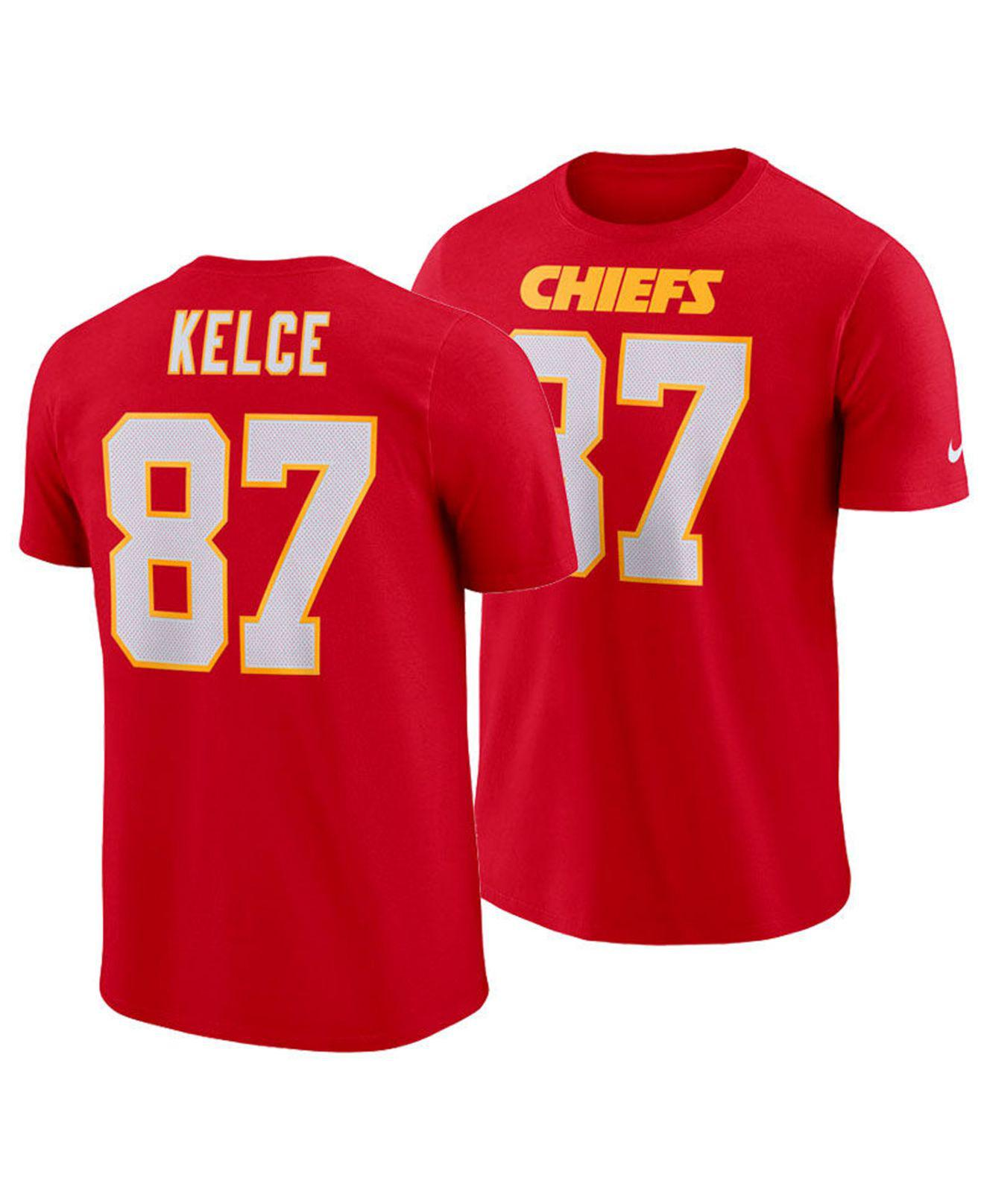 dd3a4b3430e95 Lyst - Nike Travis Kelce Kansas City Chiefs Pride Name And Number ...