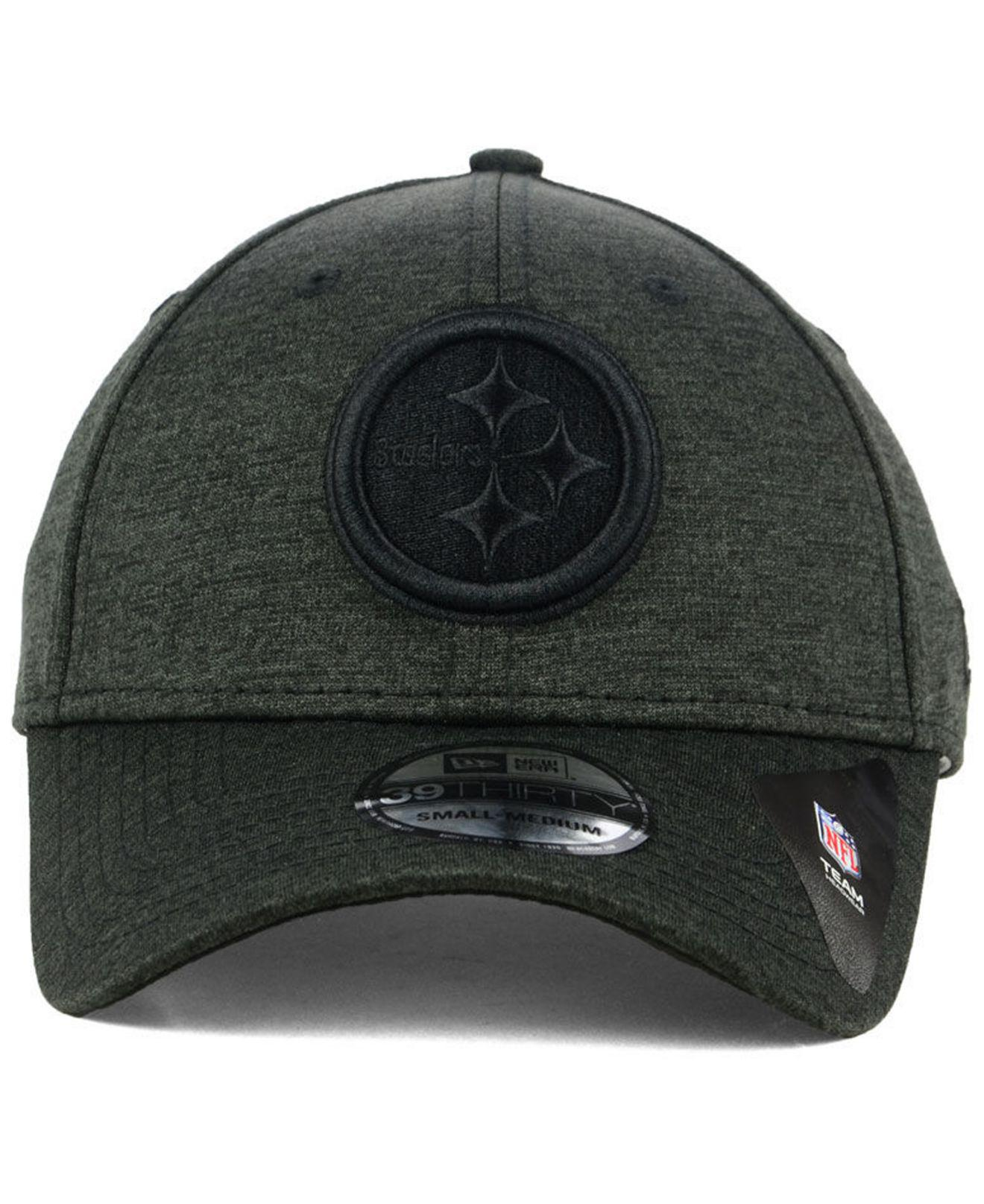 da14cd84cd0 Lyst - Ktz Pittsburgh Steelers Tonal Heat 39thirty Cap in Black for Men
