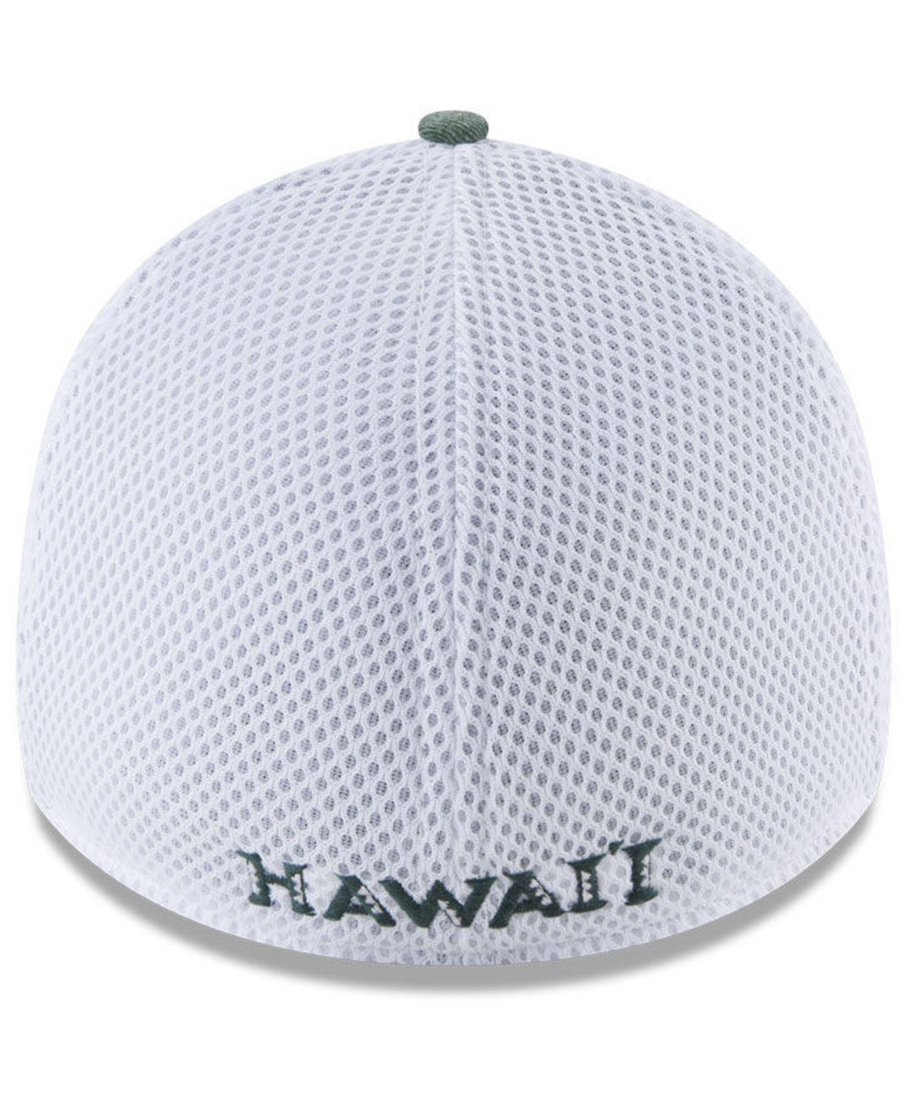 buy online 2ef3f bf2b0 Lyst - KTZ Hawaii Warriors Washed Neo 39thirty Cap in Green for Men